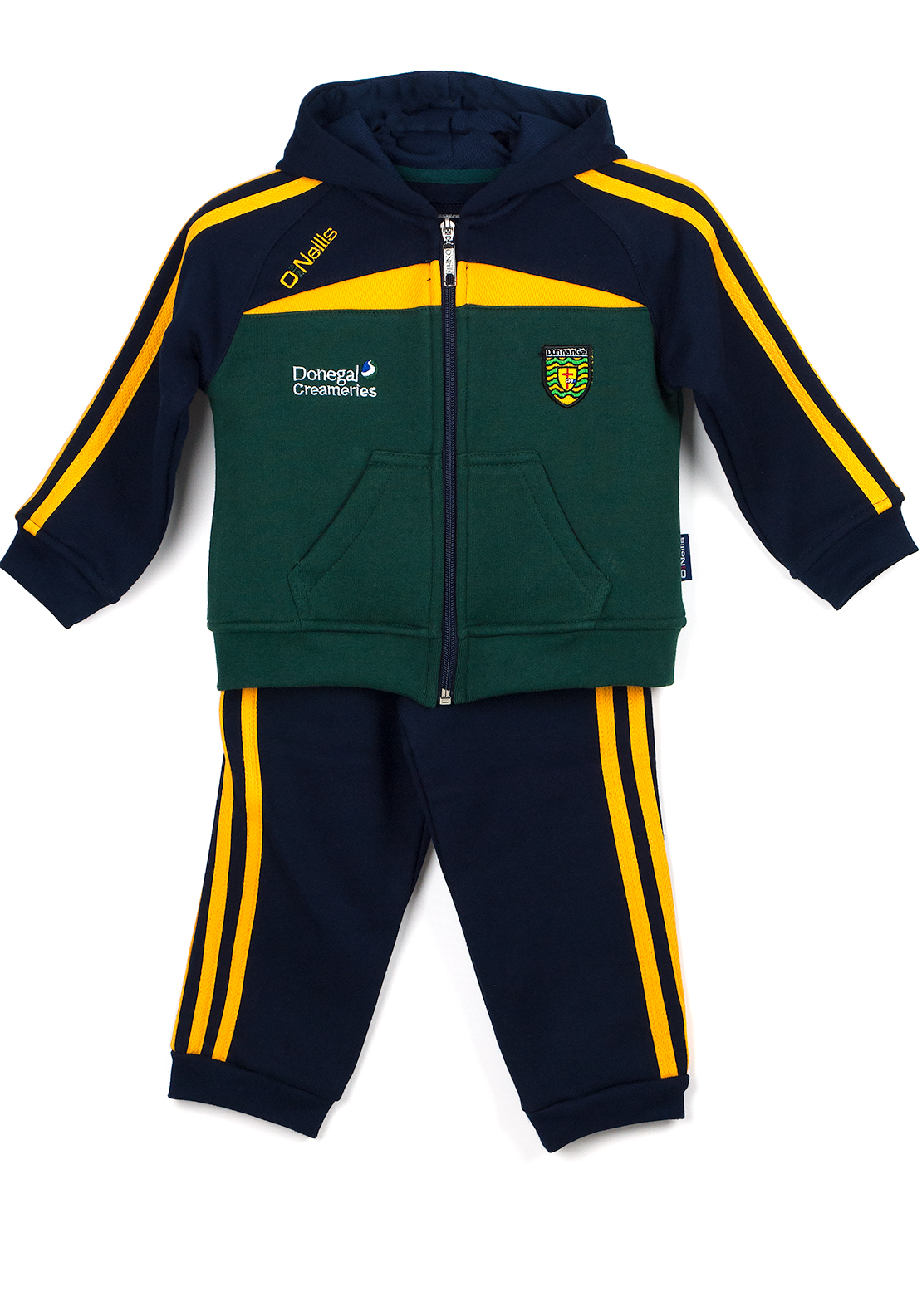 O'Neills Donegal GAA Baby Tracksuit, Green