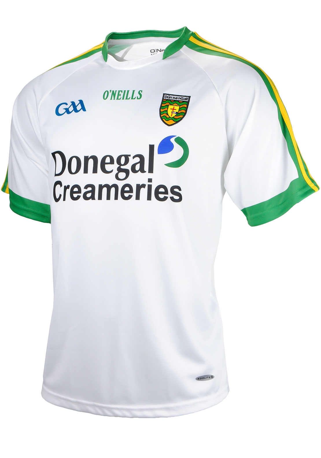 O'Neills Donegal GAA Adults Away Jersey, White