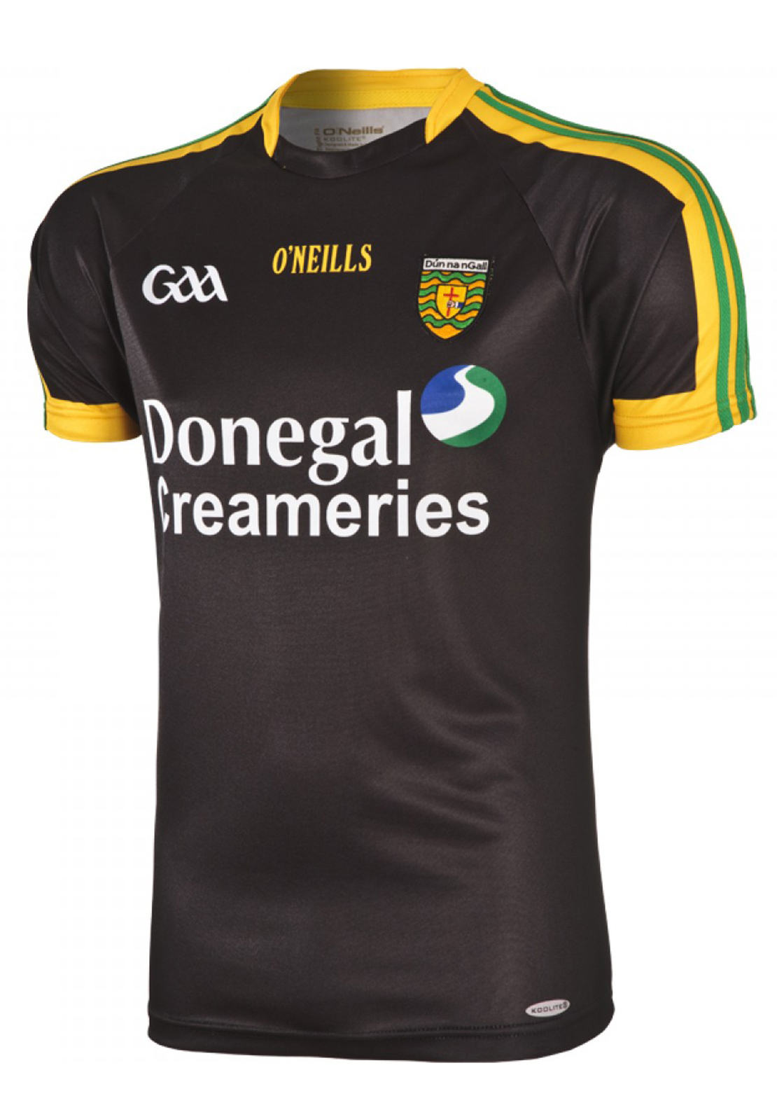 O'Neill's Donegal GAA Kids Goalkeeper Jersey, Black