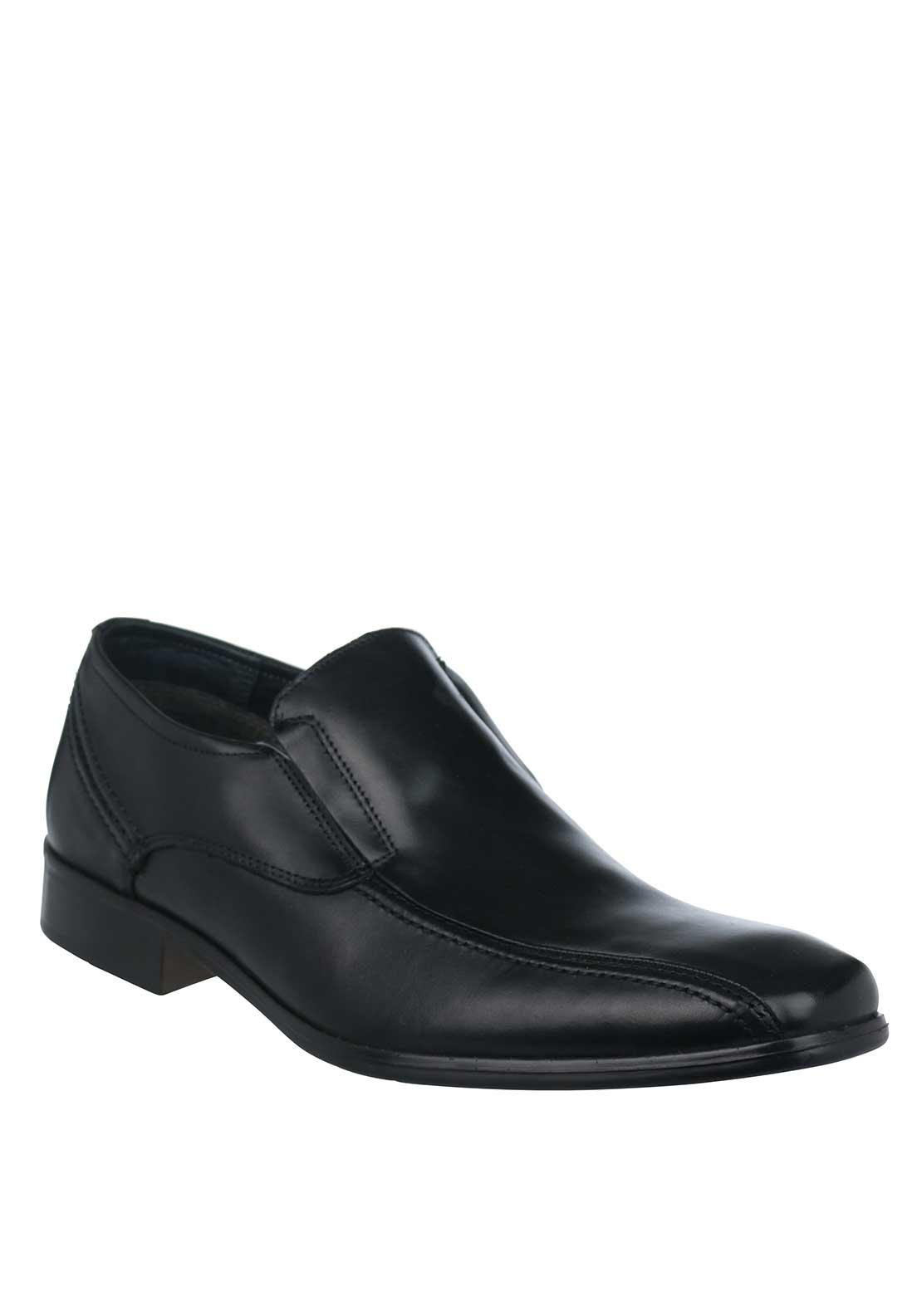 Dubarry Mens Deegan Slip On Leather Shoe, Black
