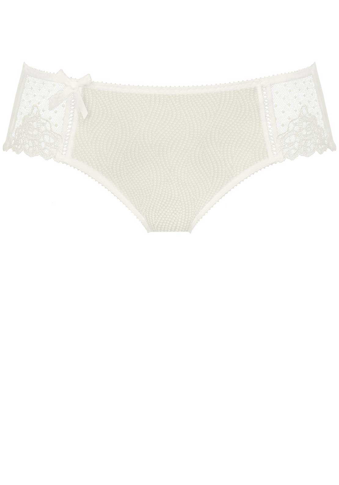 Empreinte Erin Lace Trim Shorty Brief, Naturel