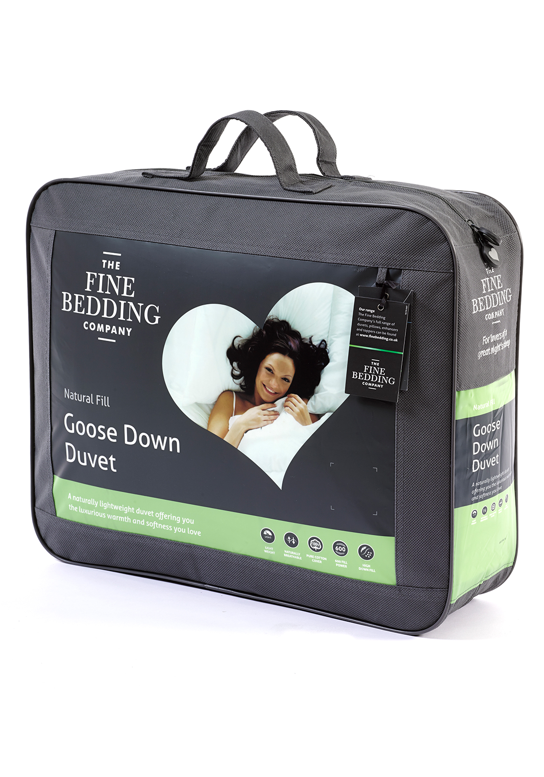 The Fine Bedding Company Goose Down Duvet 13.5 Tog