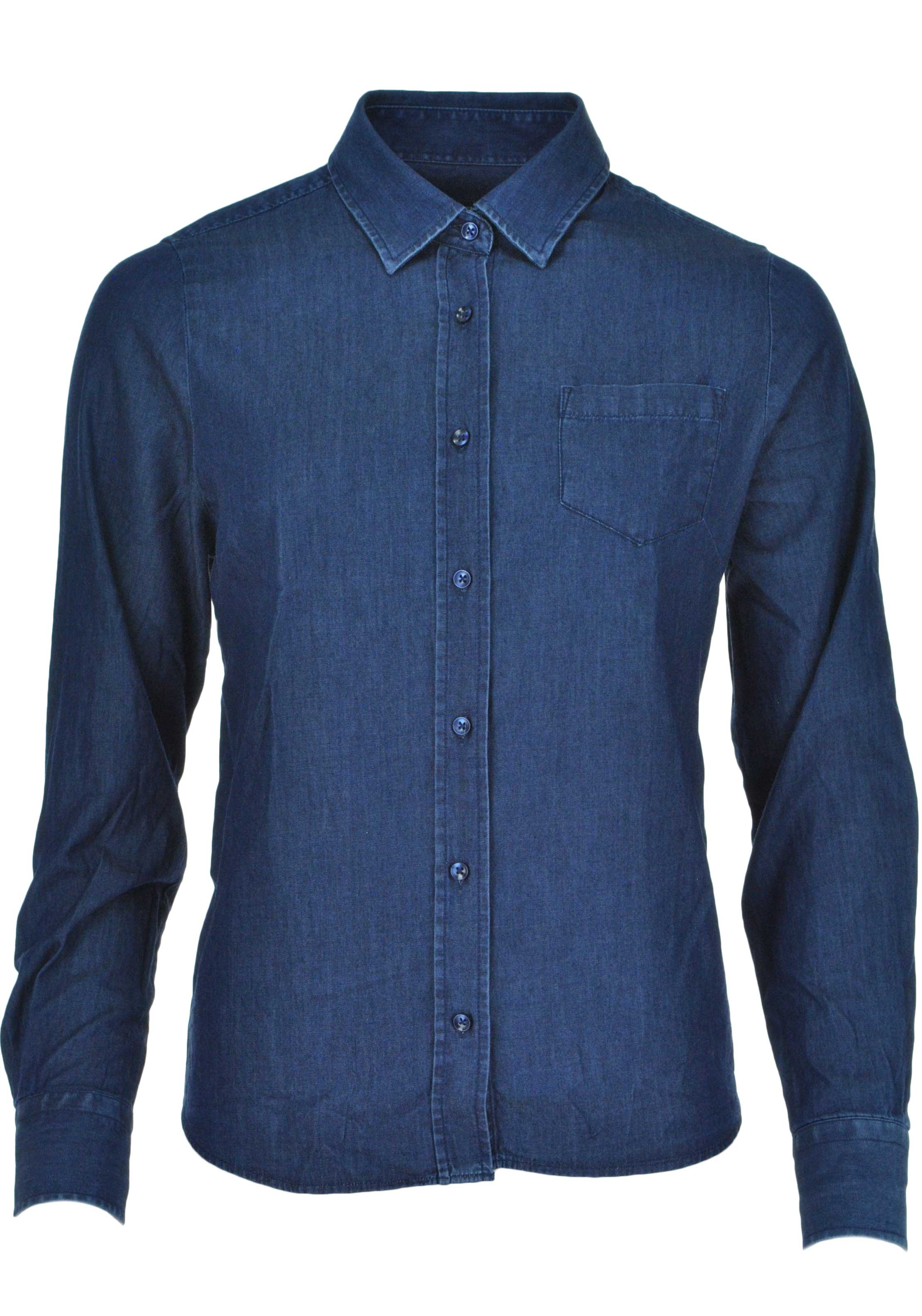 Collection by First Avenue Denim Shirt, Dark Denim