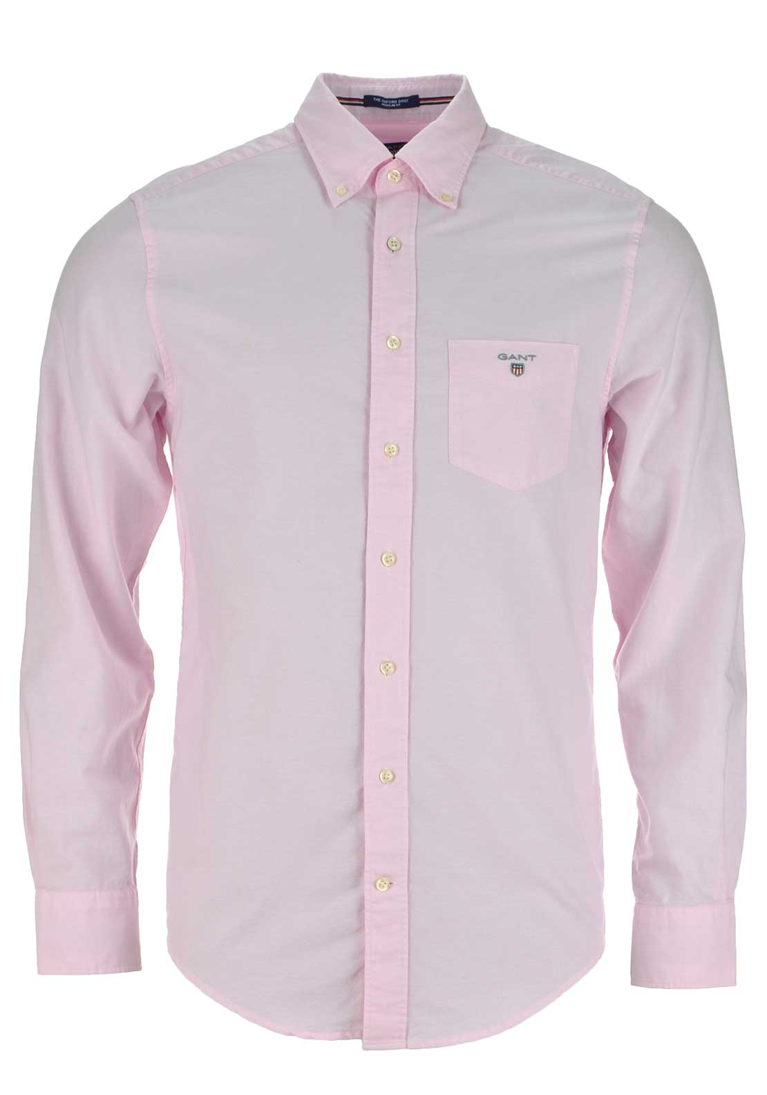 GANT Mens Oxford Shirt, Light Pink