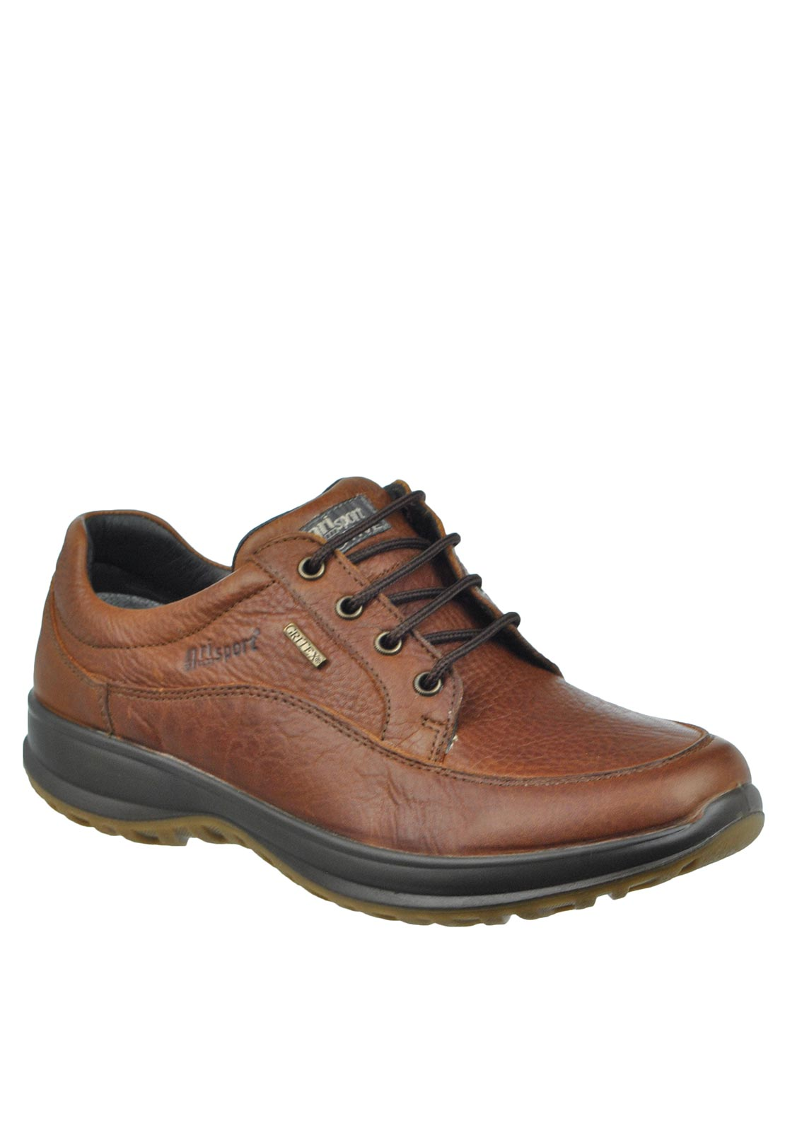 Grisport Mens Livingston Leather Walking Shoe, Tan