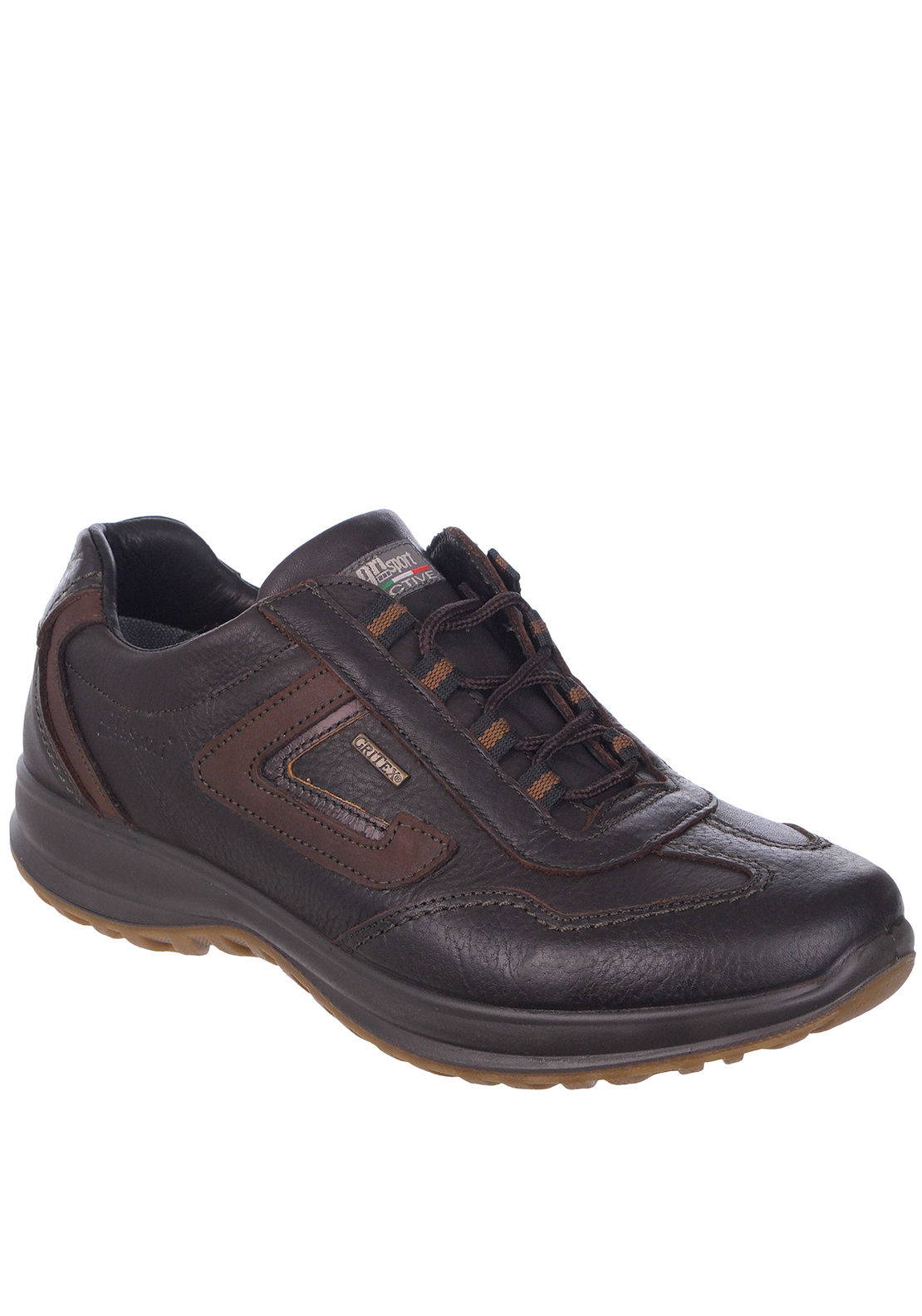 Grisport Mens Hamilton Leather Walking Shoe, Brown