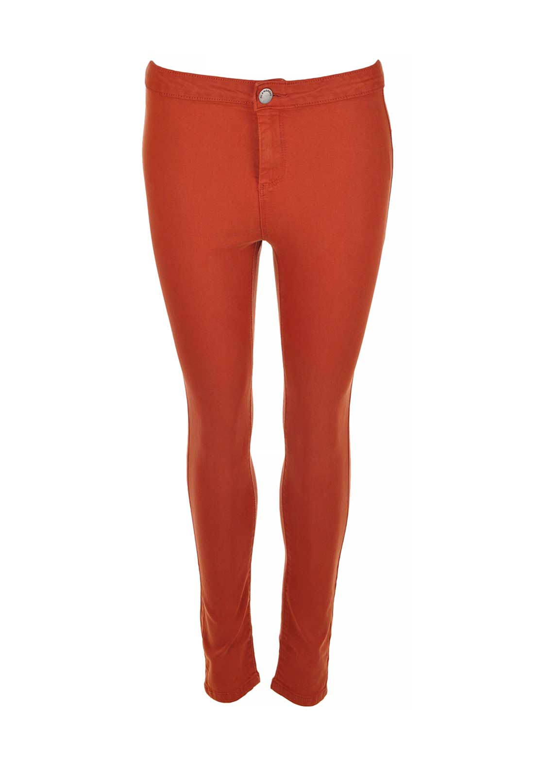 Glamorous Stretch Jeggings, Rust
