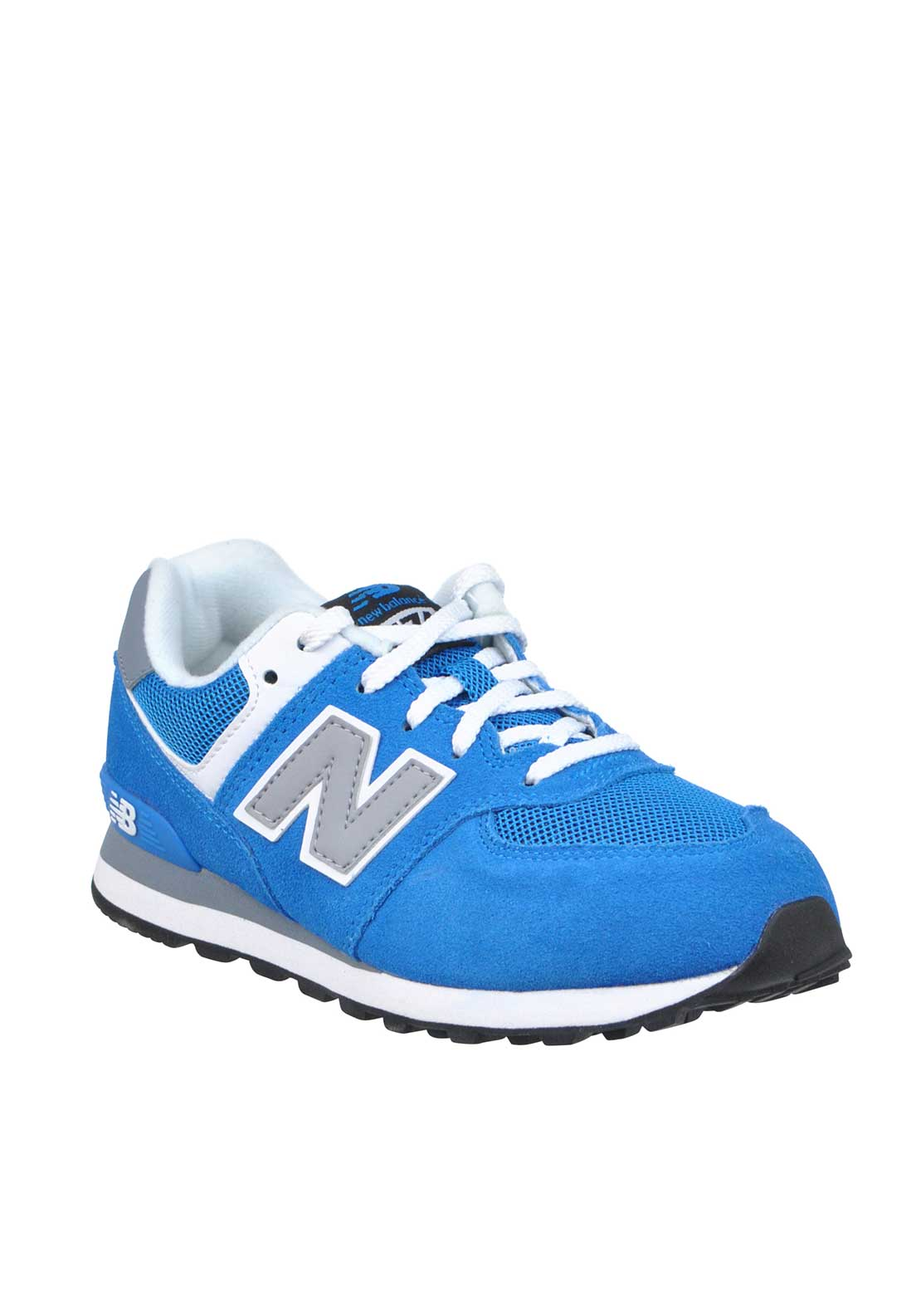 New Balance Kids 574 Fashion Runners, Blue