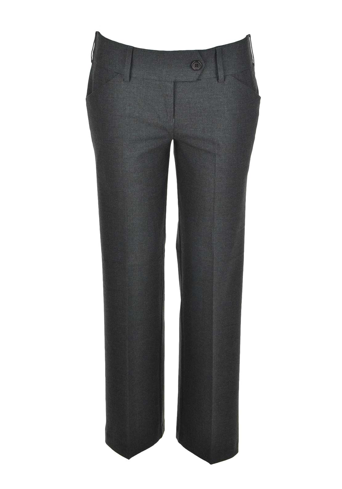 Girls School Uniform Trousers, Grey