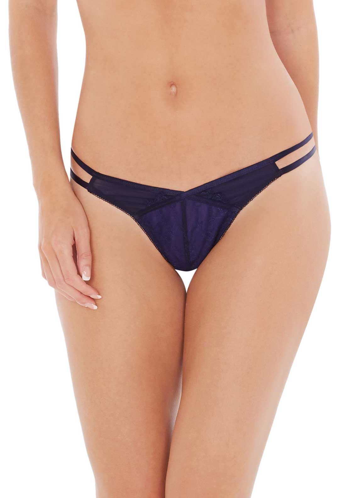 Lepel Paloma Lace Thong, Electric Blue