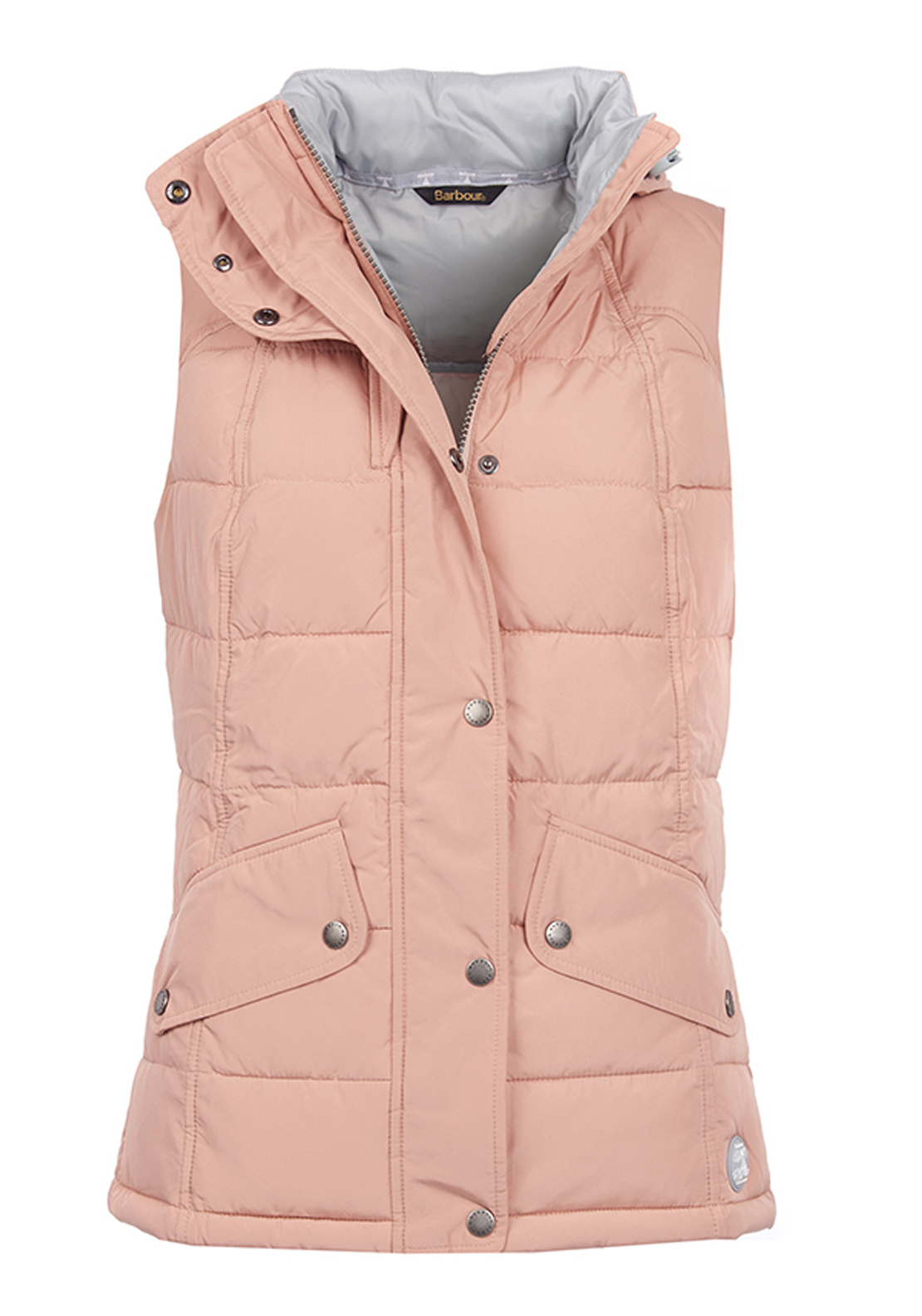 Barbour Womens Landry Quilted Gilet, Nude