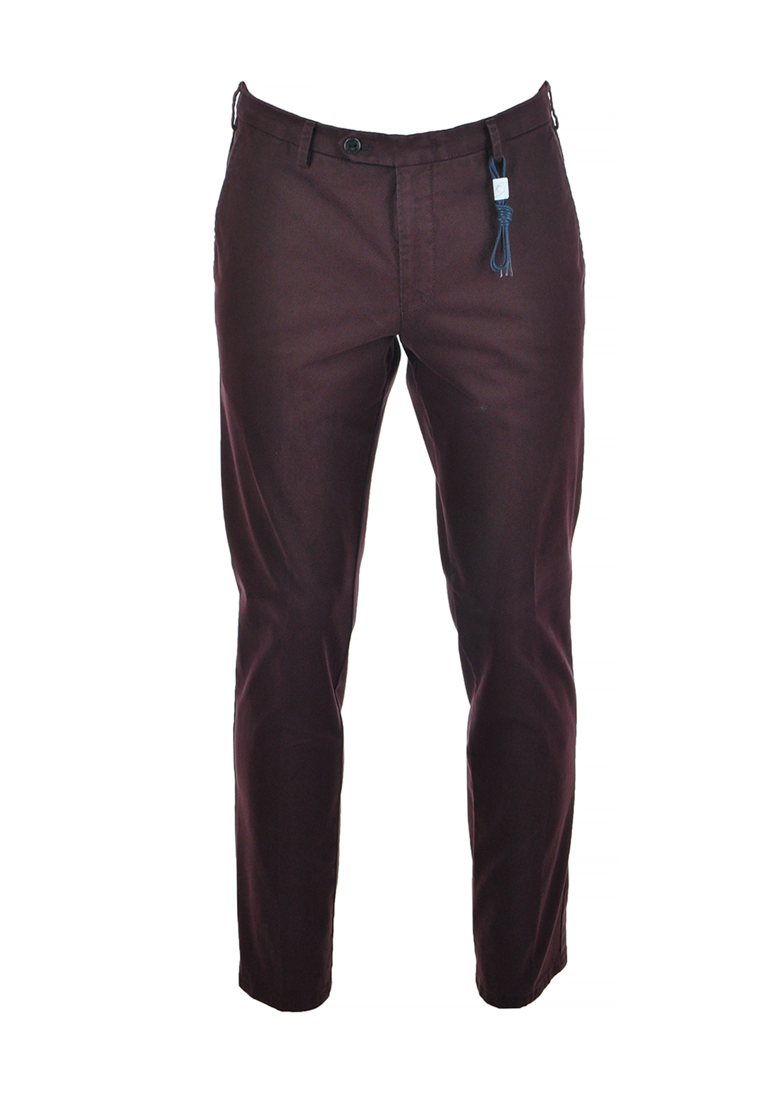 MMX by Meyer Mens Lynx Cotton Stretch Trouser, Burgundy