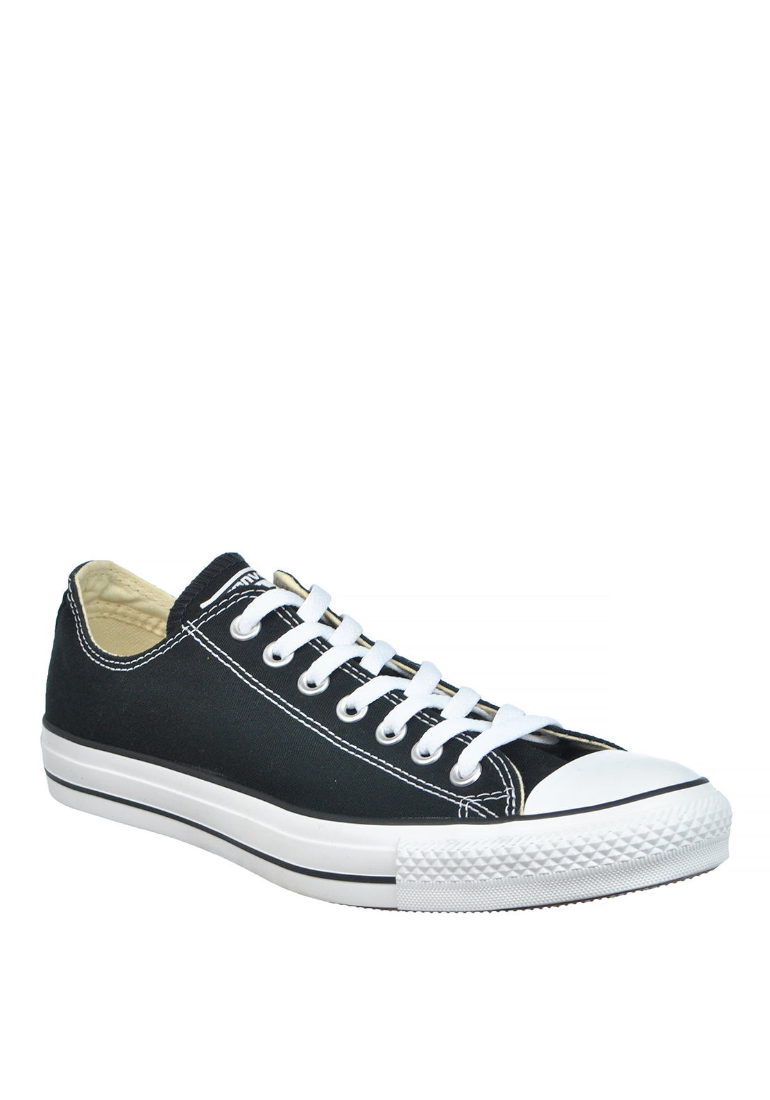 Converse Mens All Star Ankle Canvas Trainers, Black