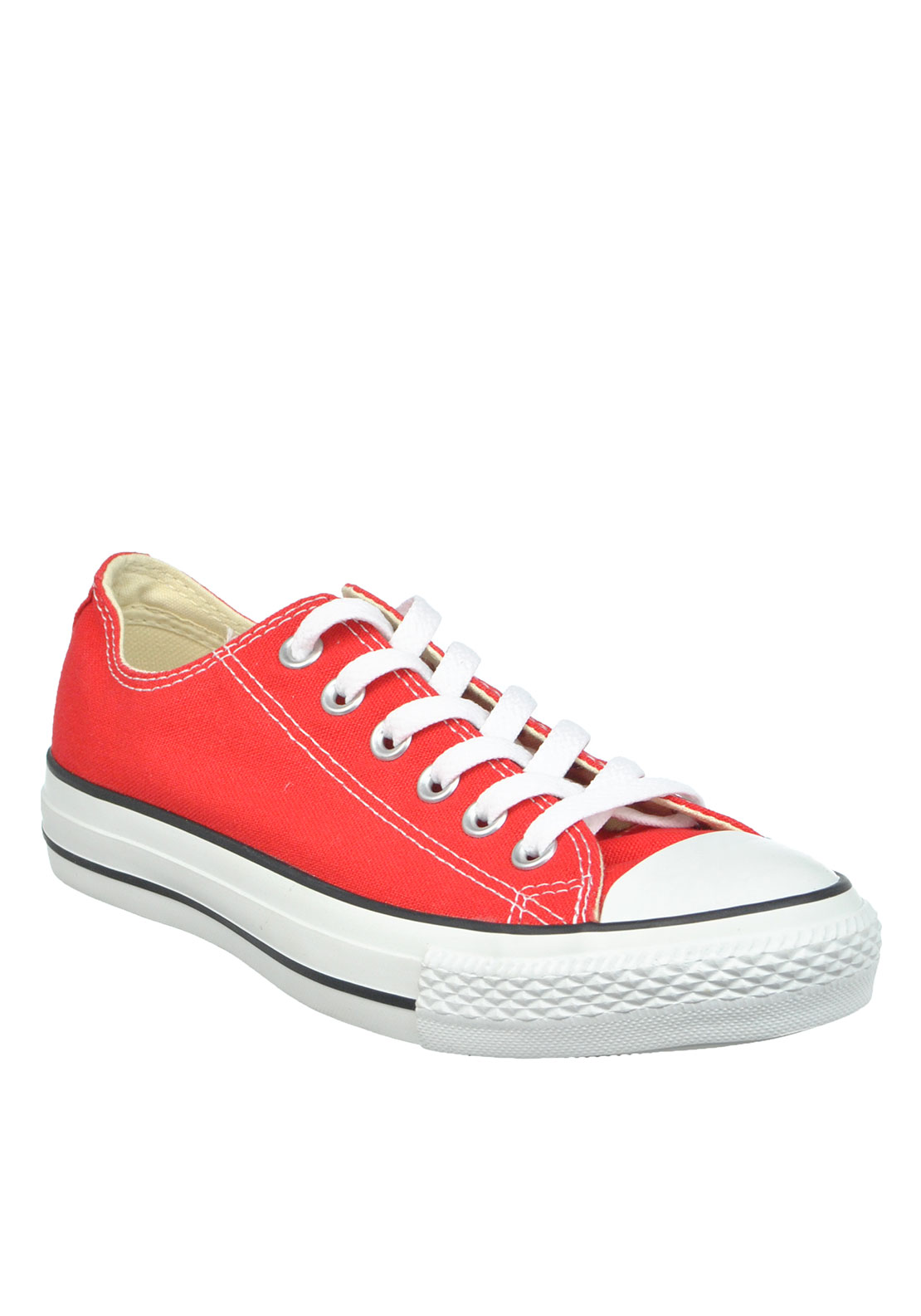 Converse Unisex All Star Ankle Trainers, Red