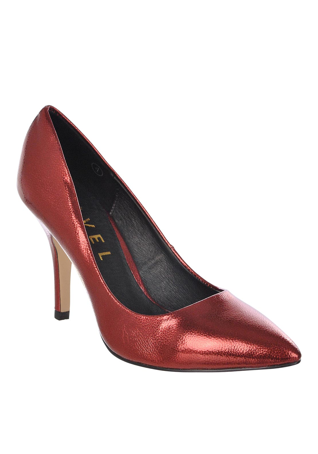 Ravel Womens Mableton High Heel Pointed Toe Shoe, Burgundy
