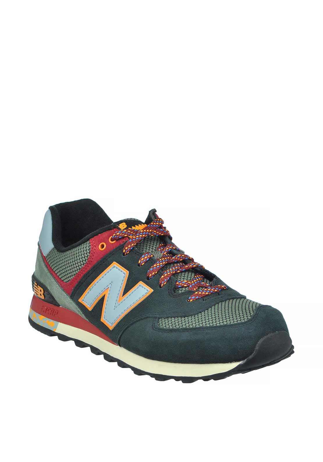 New Balance Mens Classic 574 Fashion Runners, Multi-Coloured