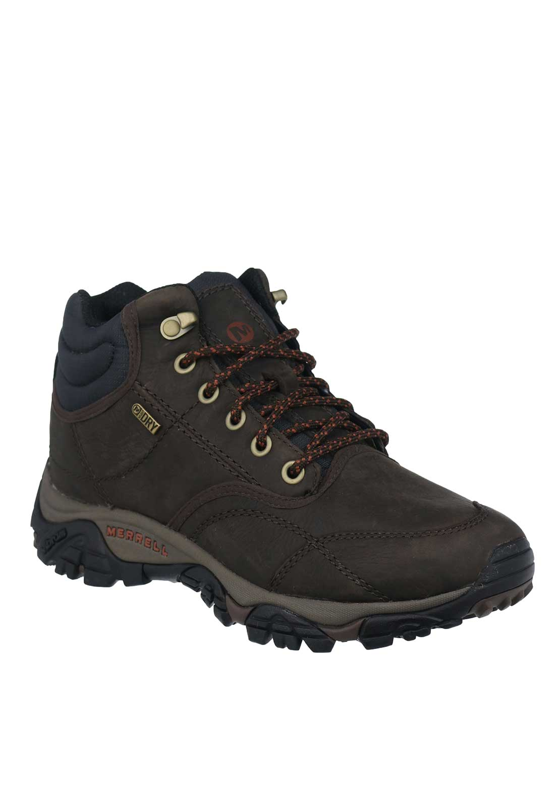 Merrell Moab Rover Mid-Height Waterproof Wide Fit Hiking Boot, Espresso