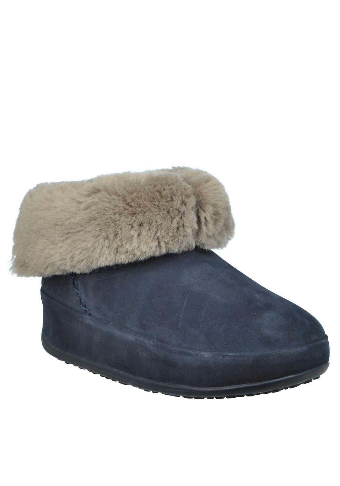Fit Flop™ Mukluk™ Suede Shorty Boots, Navy