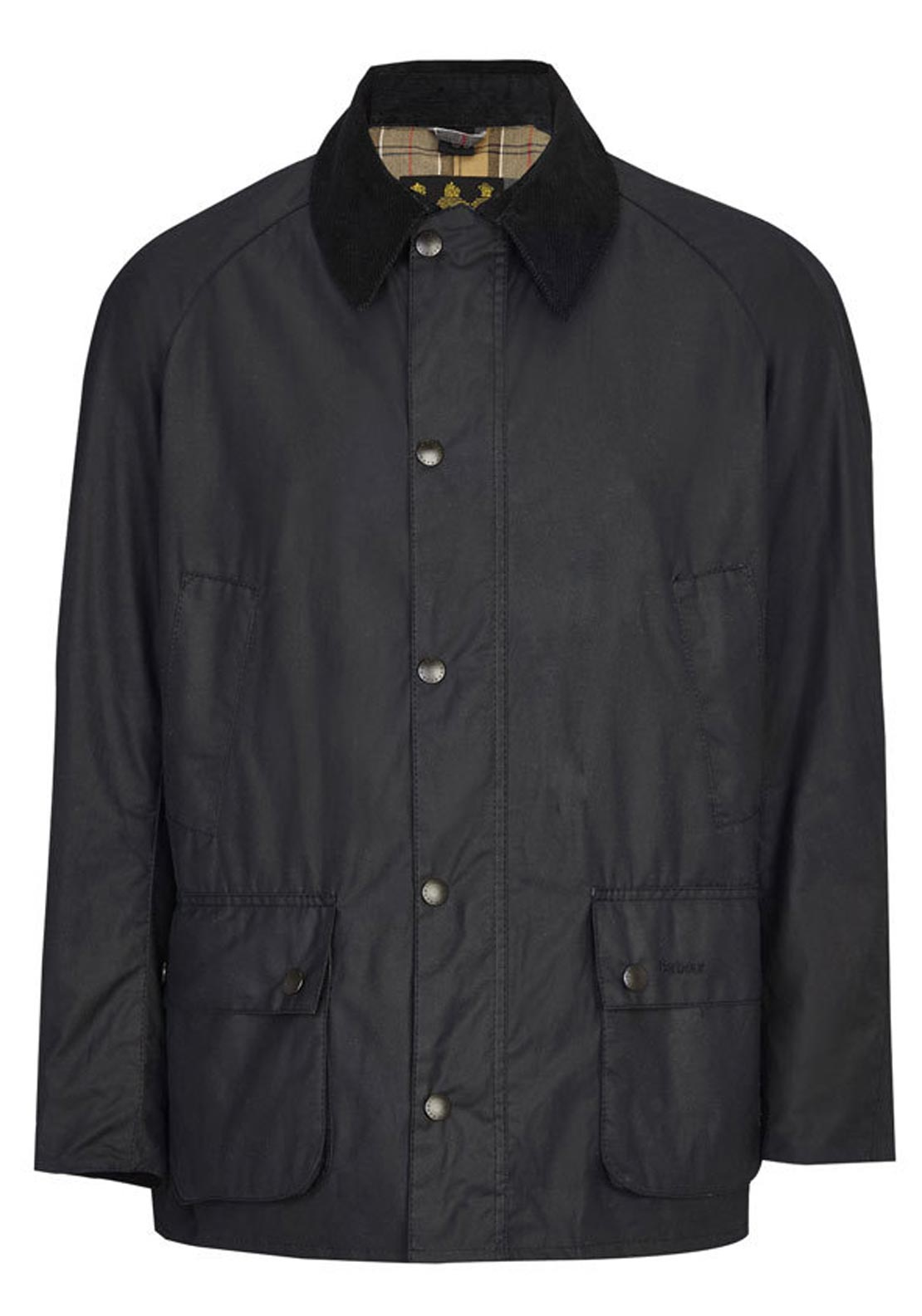 Barbour Mens Ashby Waxed Jacket, Navy
