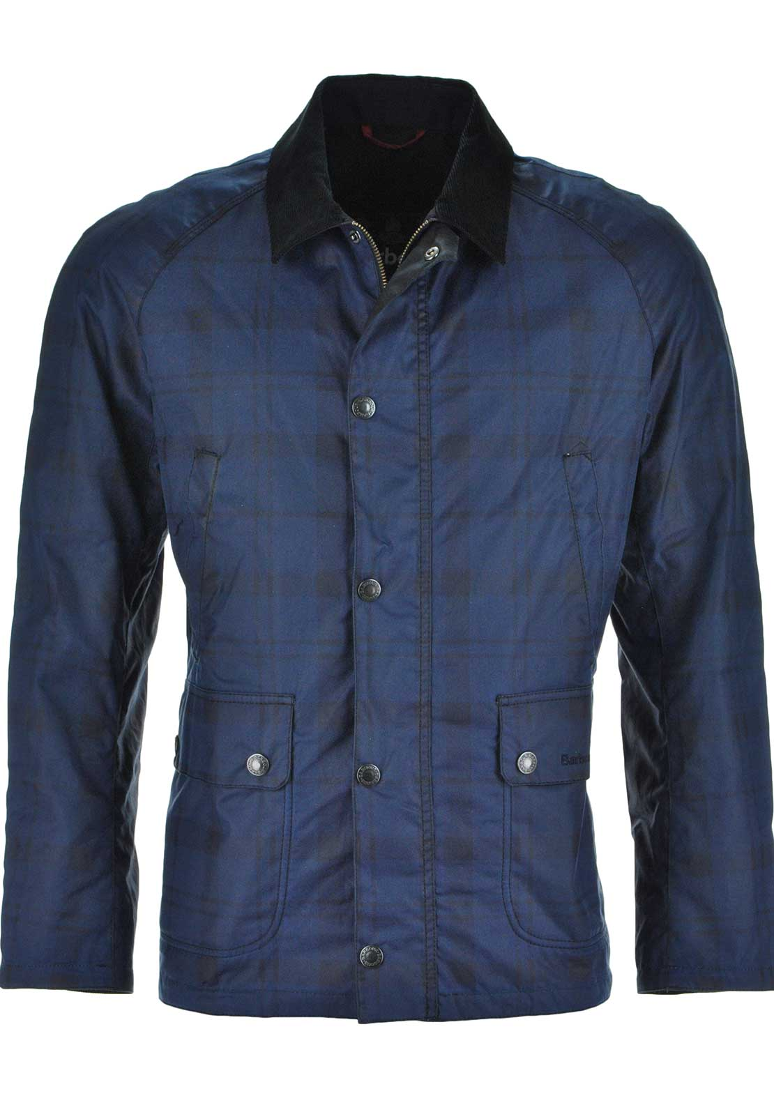 Barbour Mens Alness Waxed Cotton Jacket, Navy