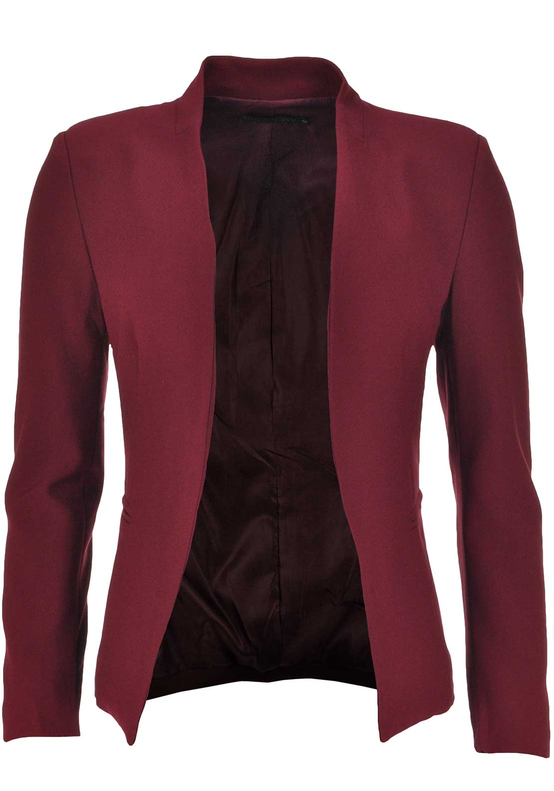 Boutique Classic Blazer Jacket, Wine