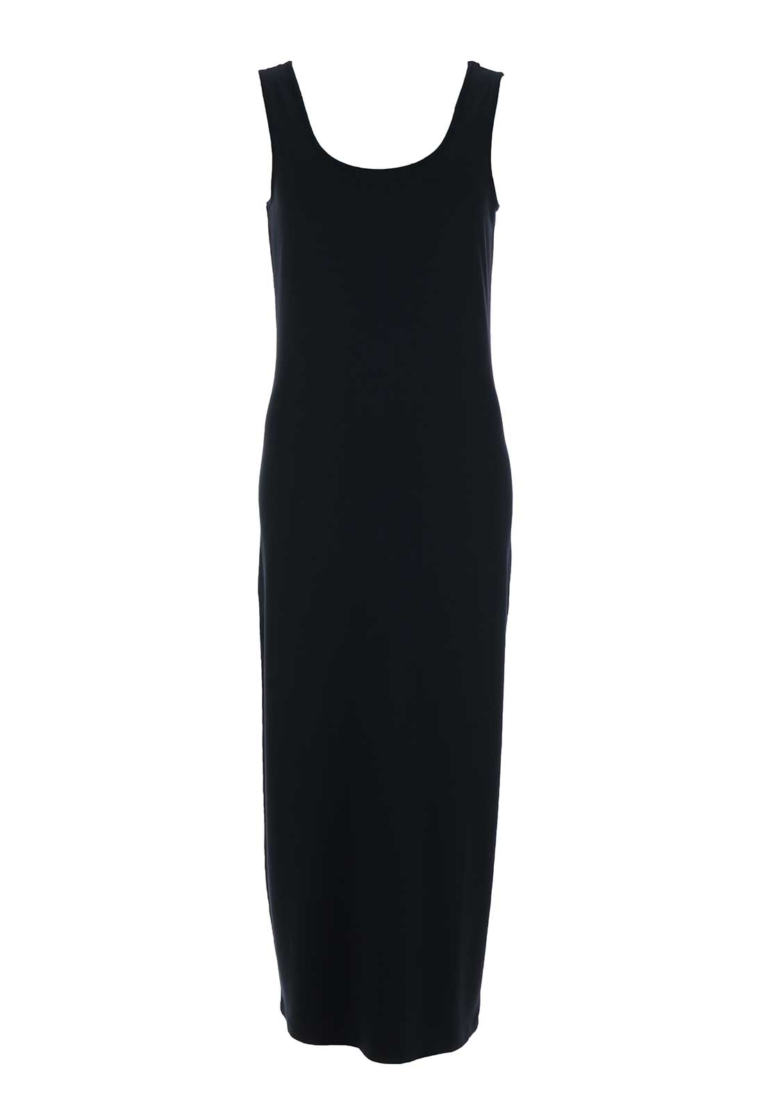 Naya Sleeveless Jersey Maxi Dress, Navy