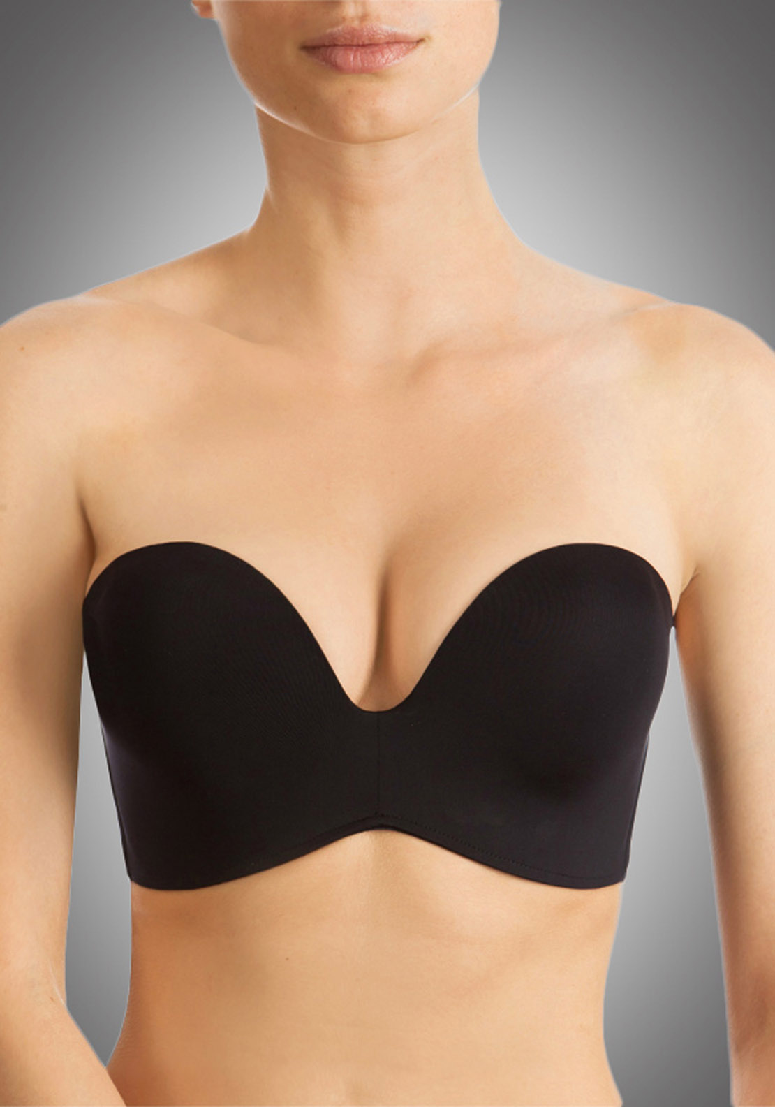 Wonderbra Ultimate Strapless Bra, Black