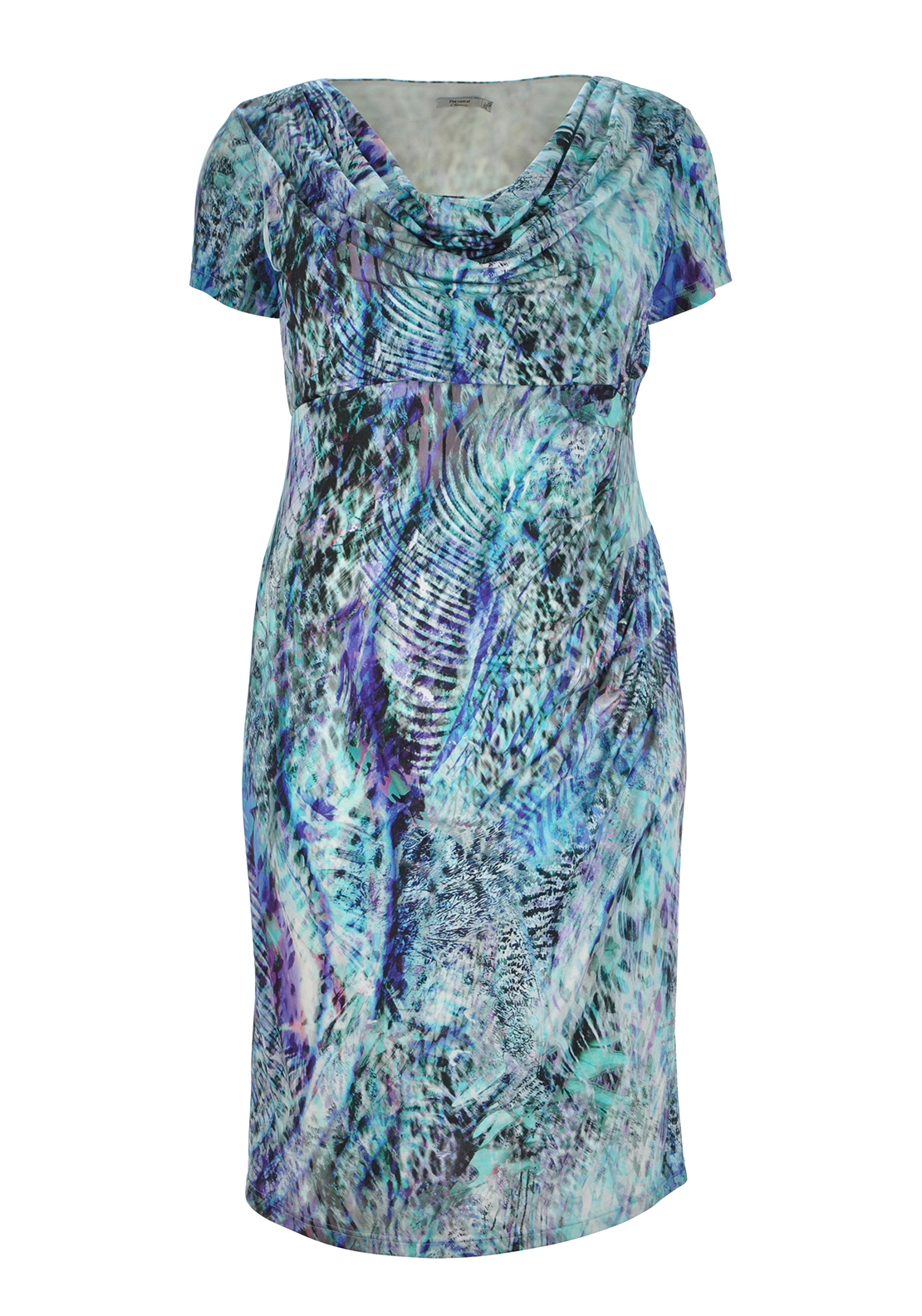 Personal Choice Digital Print Dress, Multi Coloured