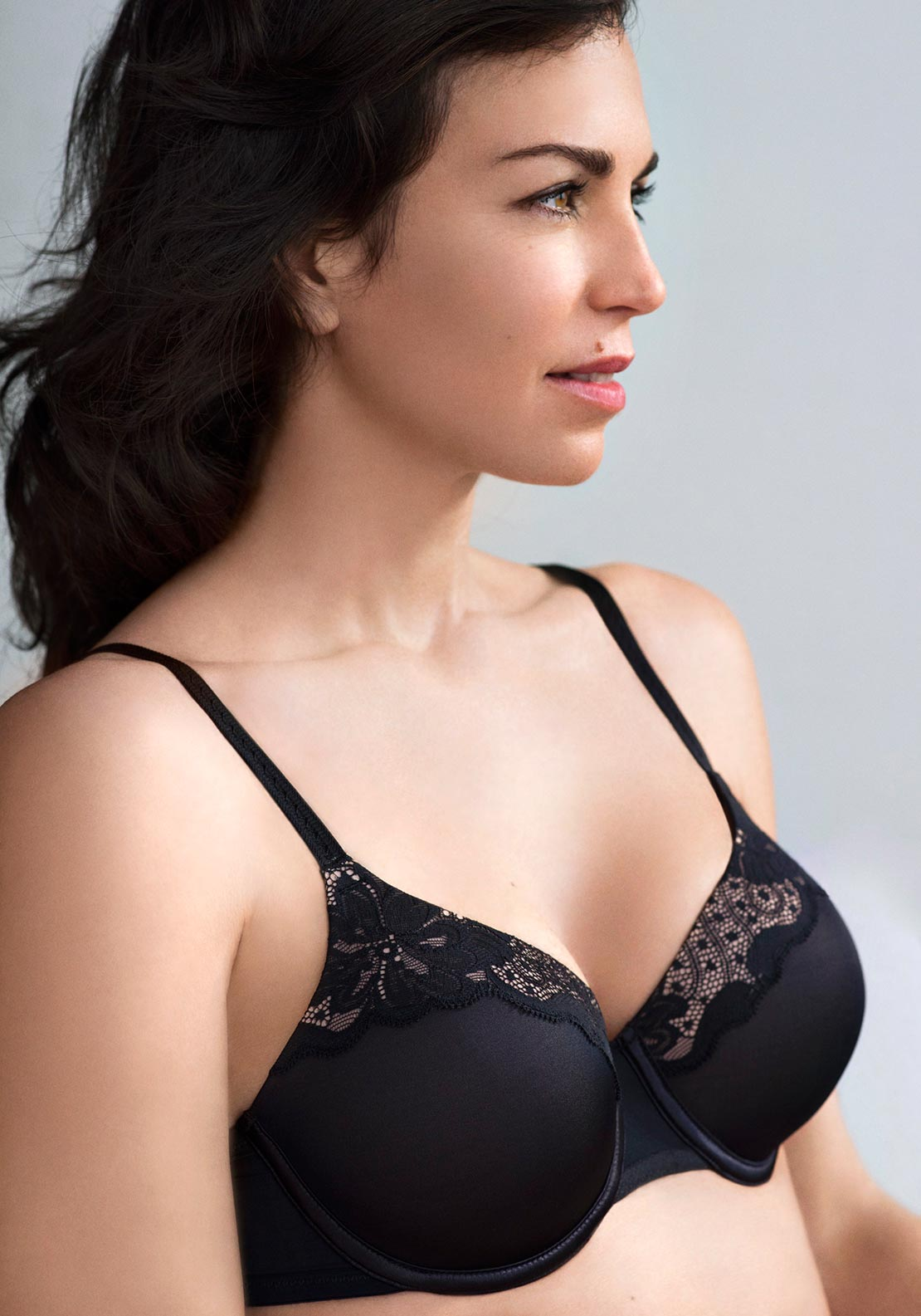 Playtex Contour Perfection Underwire Bra, Black