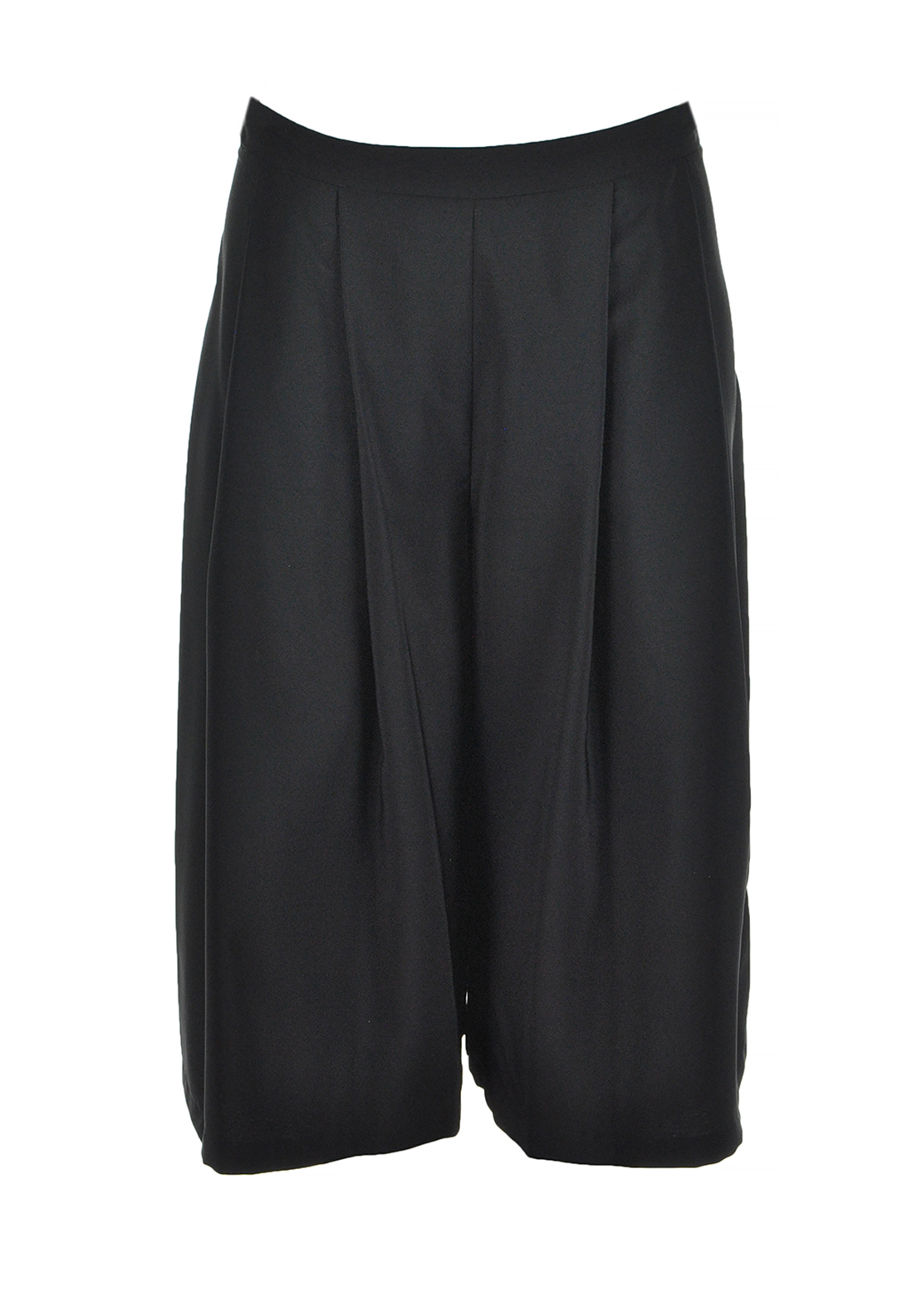 Boutique Culotte Cropped Trousers, Black