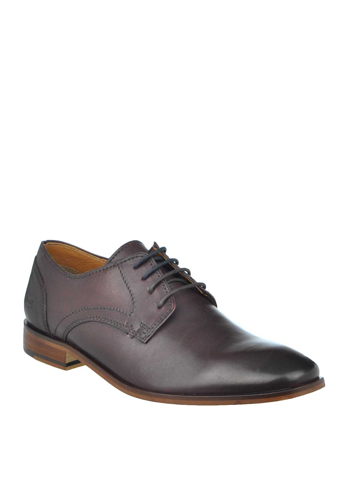 Paul O'Donnell by POD Boston Leather Lace Up Formal Shoes, Brown