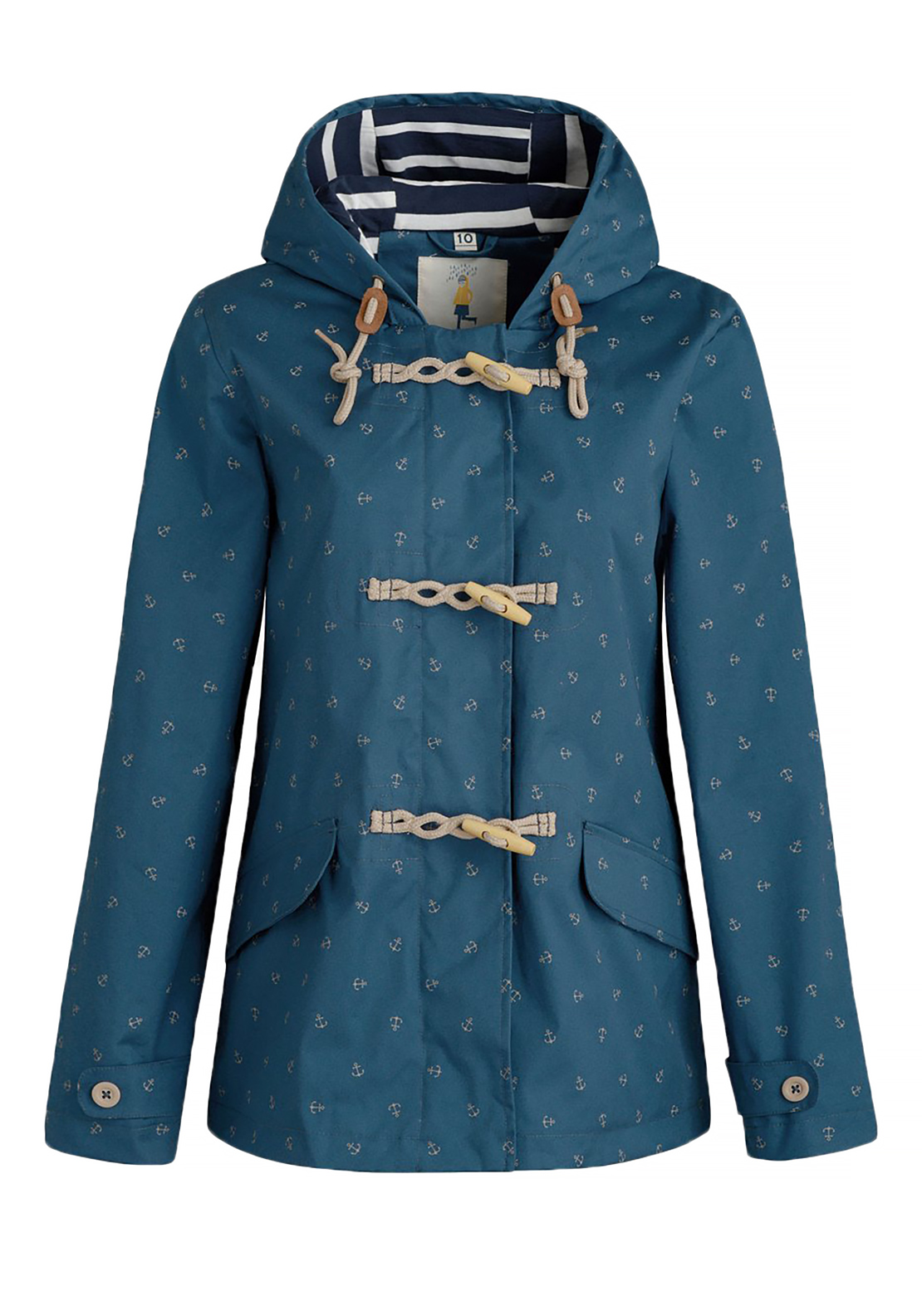 Seasalt Patterned Seafolly Jacket, Scattered Anchor Squall