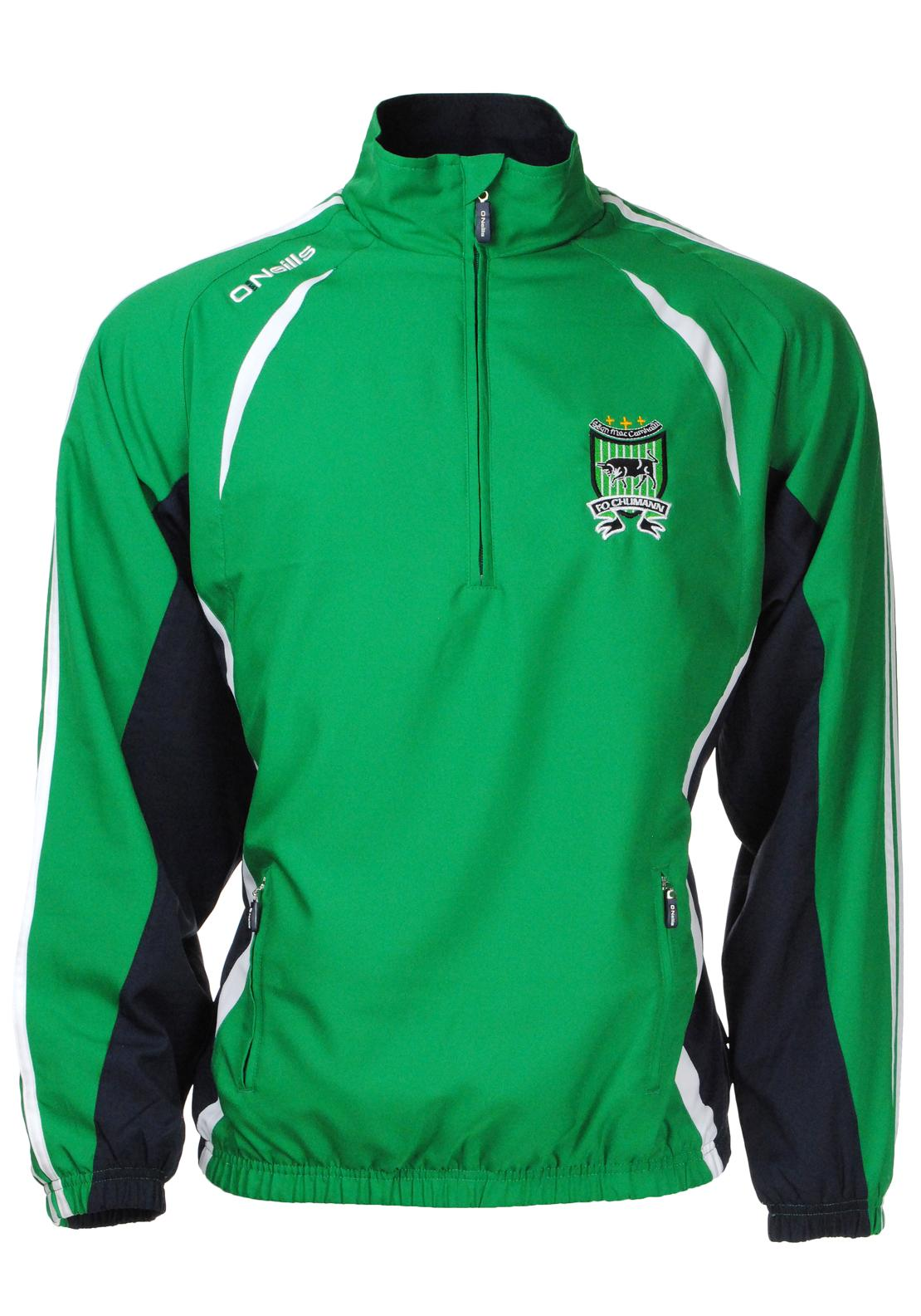 O'Neill's Adults Mac Cumhaills Ria Track Top, Green