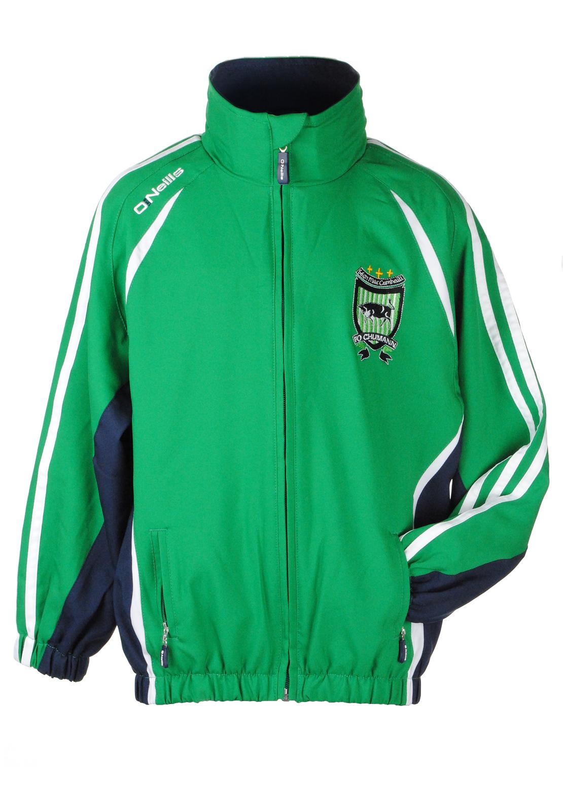 O'Neill's Mac Cumhaills Kids Ria Track Top, Green