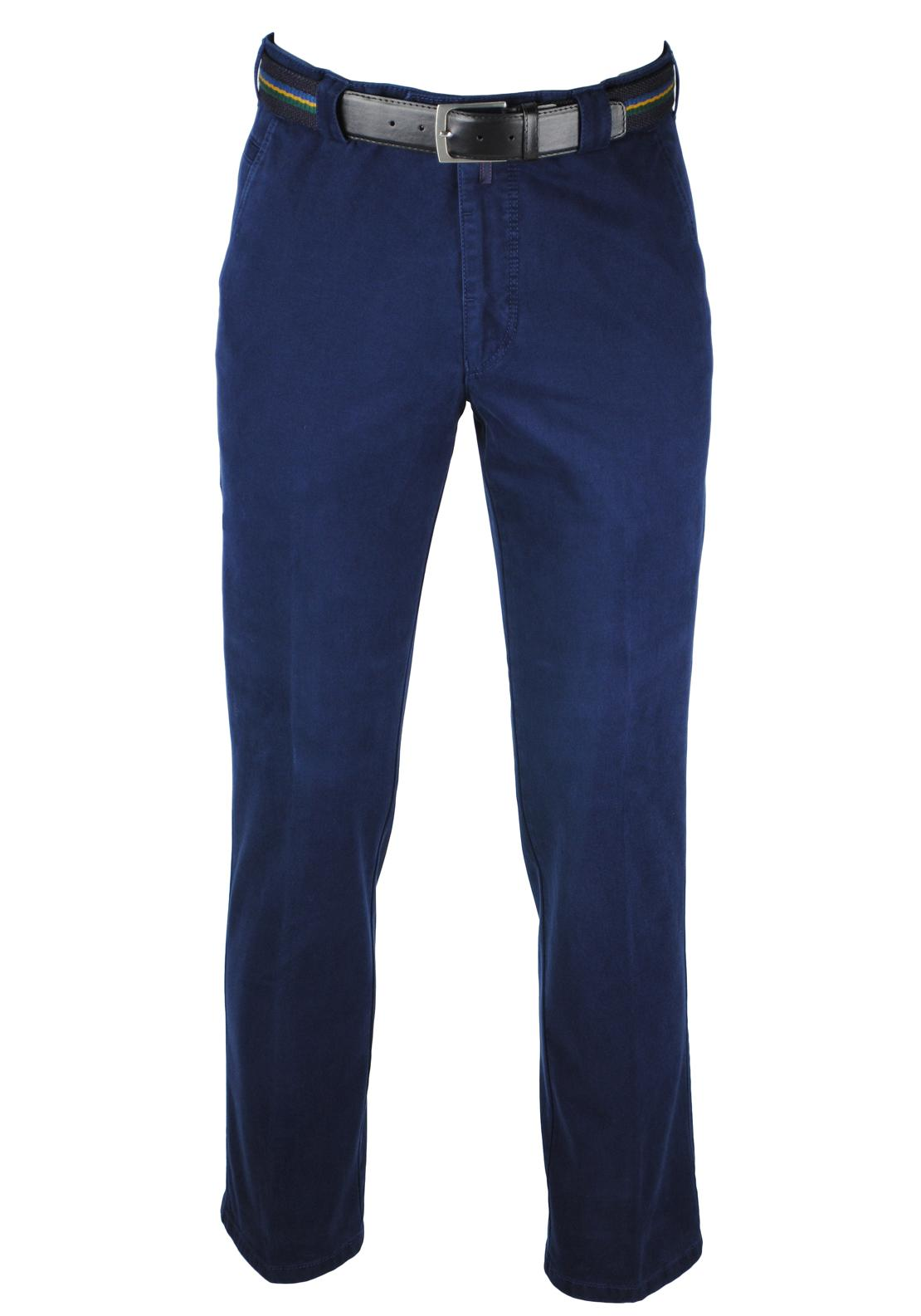 Meyer Chino Trousers, Navy
