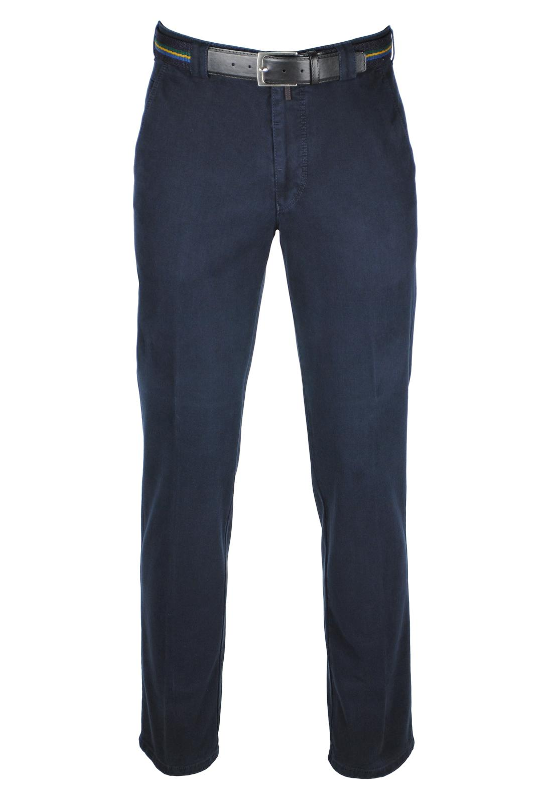 Meyer Chino Trousers, Dark Navy