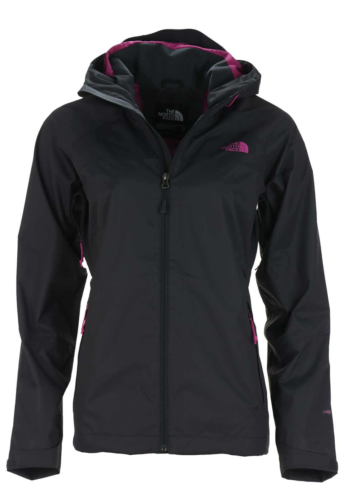 The North Face Womens Sequence Jacket, Charcoal Grey