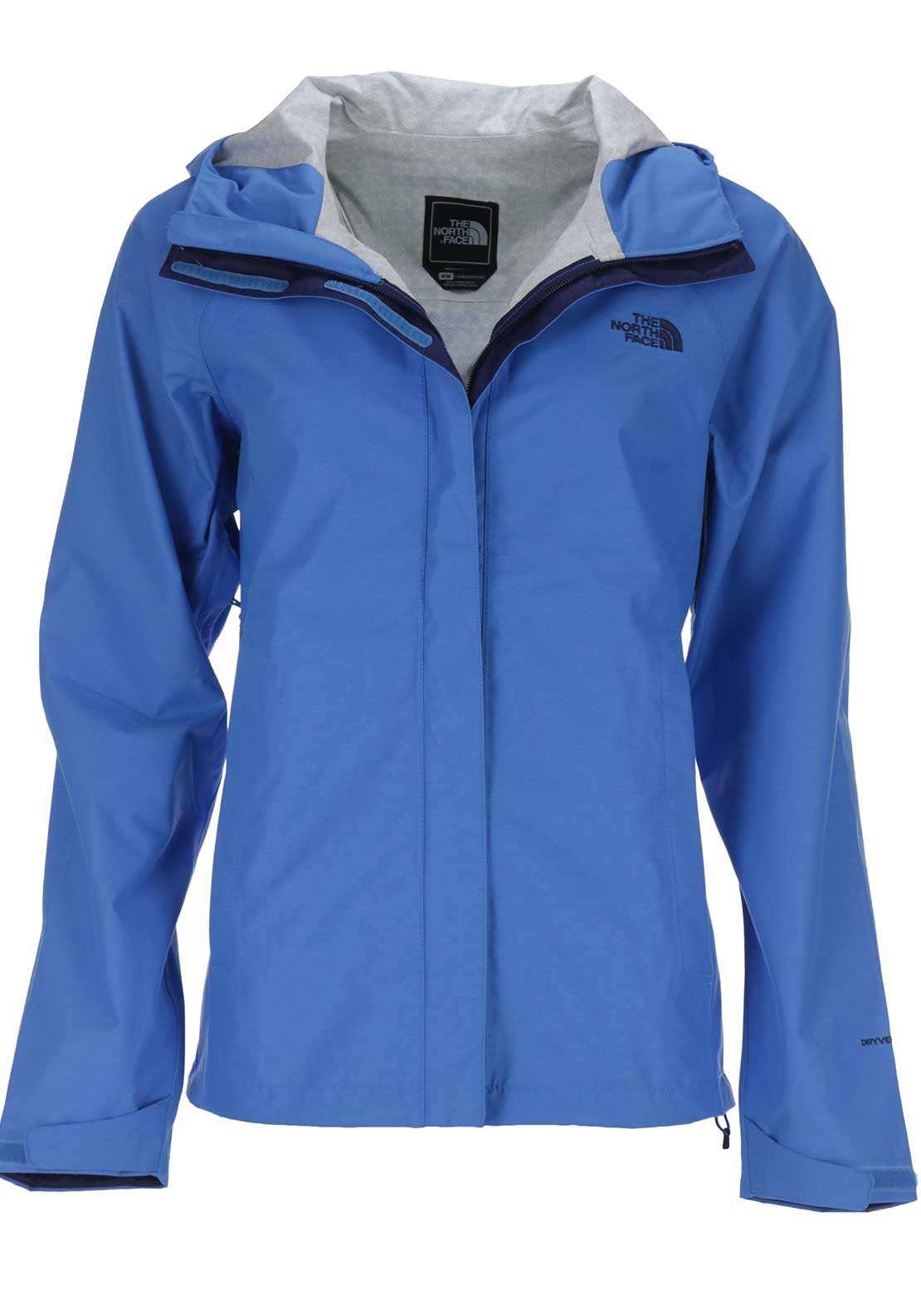 The North Face Womens Hooded Venture Jacket, Blue