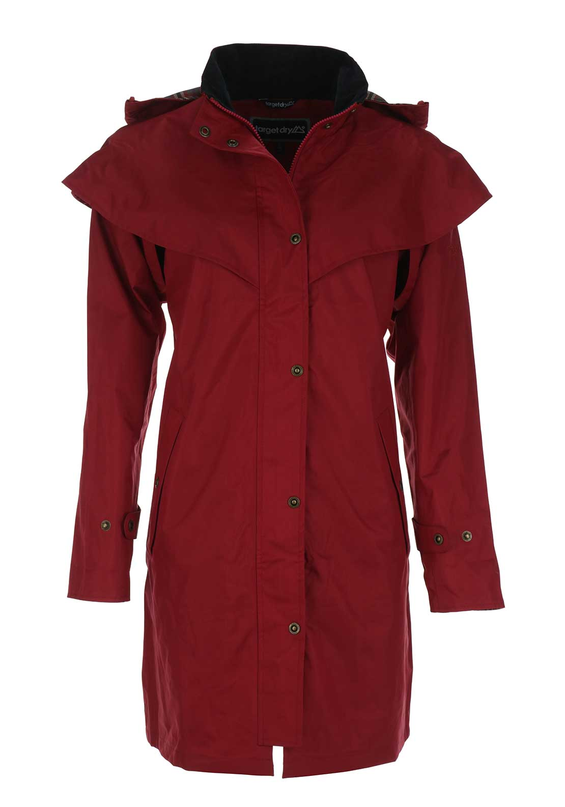 Target Dry Outrider 2 Waterproof Hooded Coat, Red