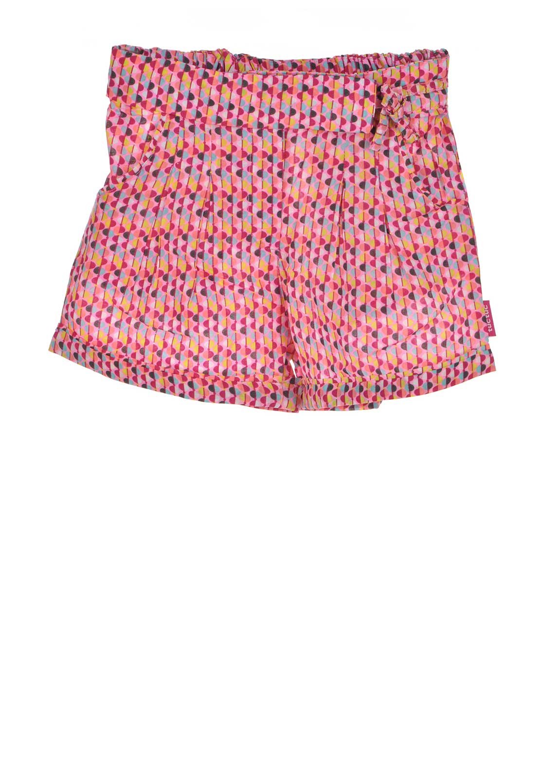 Tuc Tuc Girls Printed Shorts, Pink