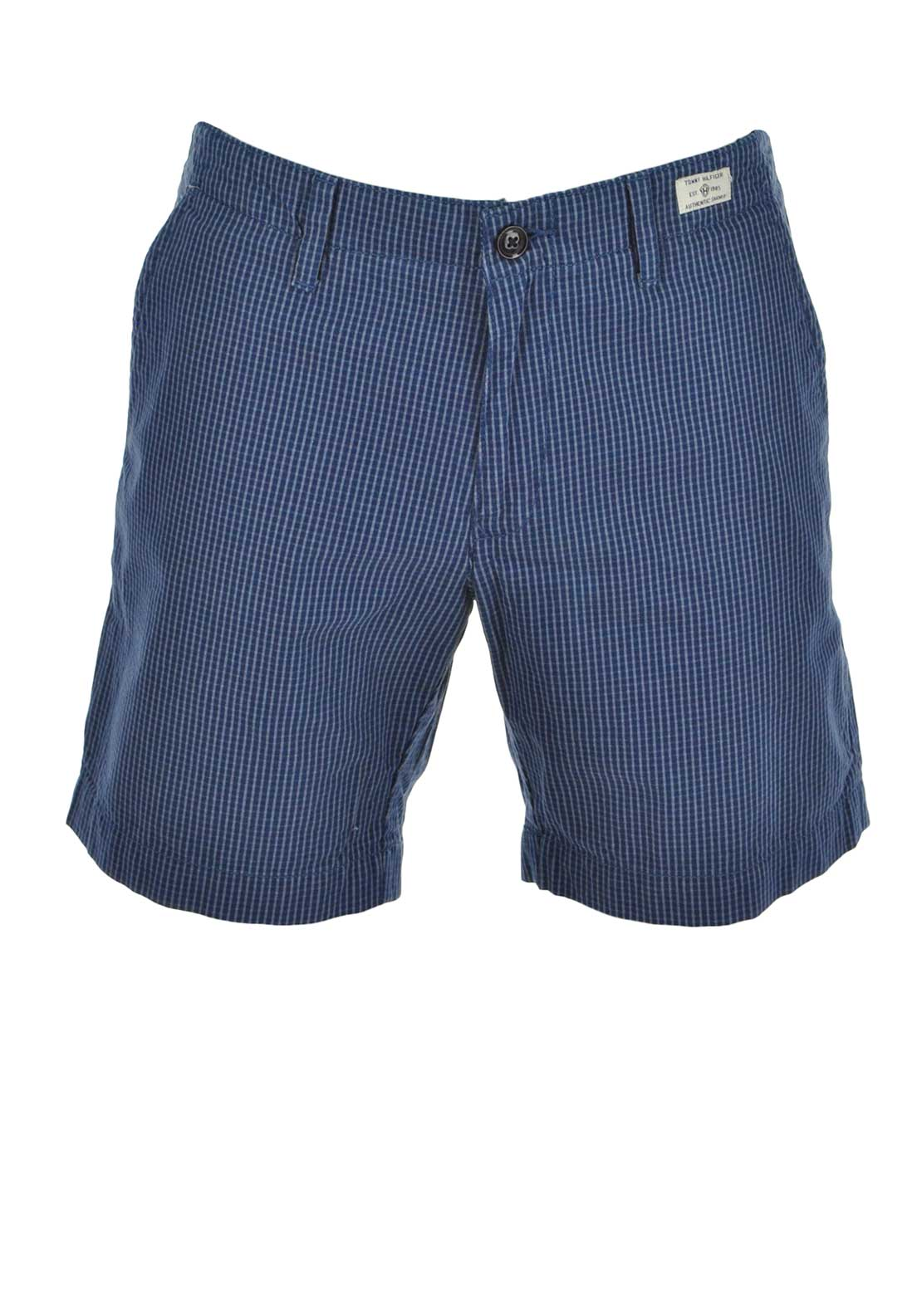 Tommy Hilfiger Mens Brooke Cotton Short, Blue Multi