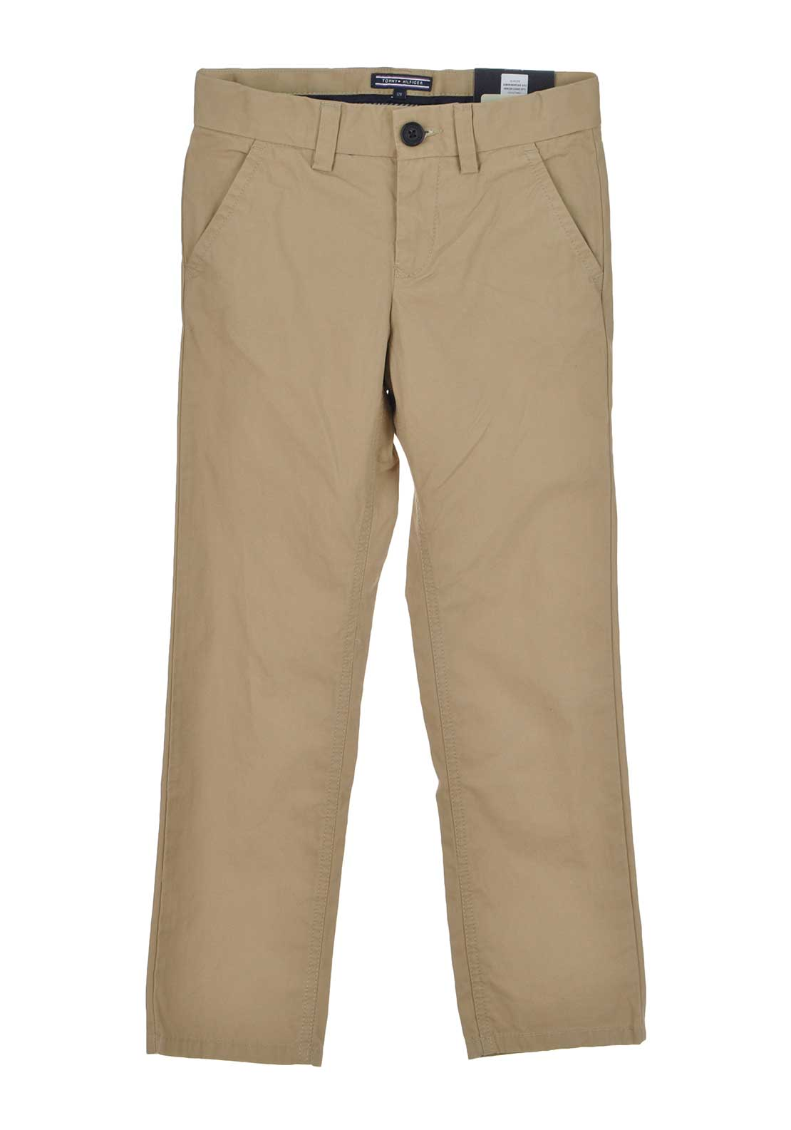 Tommy Hilfiger Boys Mercer Chino Trousers, Beige