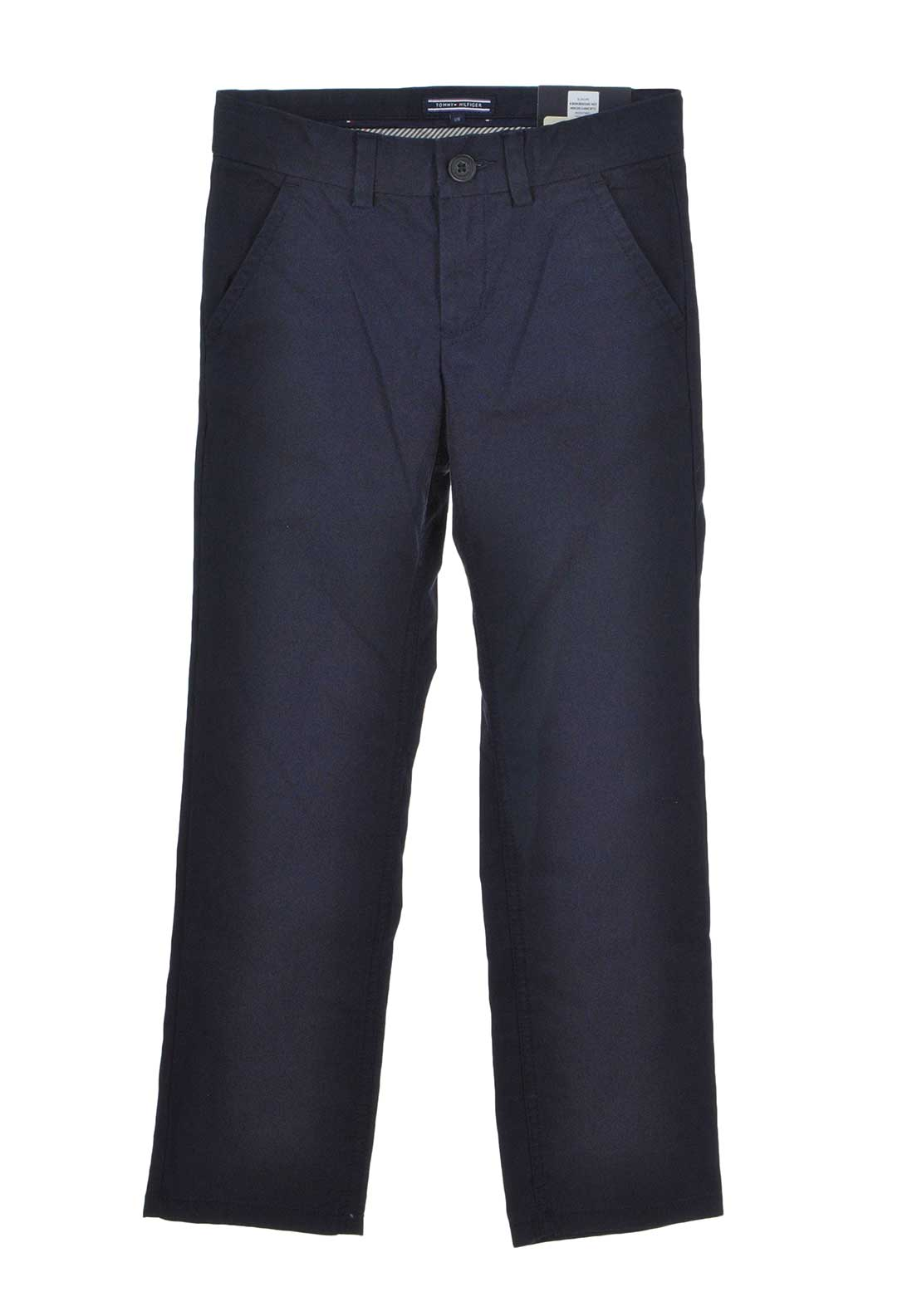 Tommy Hilfiger Boys Mercer Chino Trousers, Navy