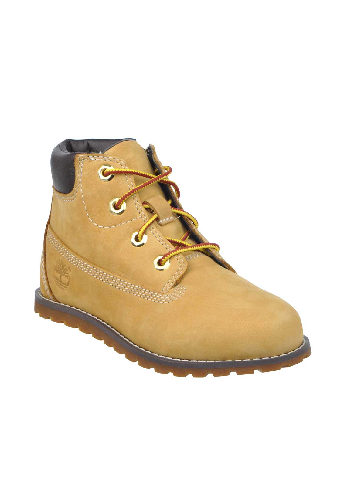 Timberland Boys Suede Splash Blaster Laced Boots, Wheat