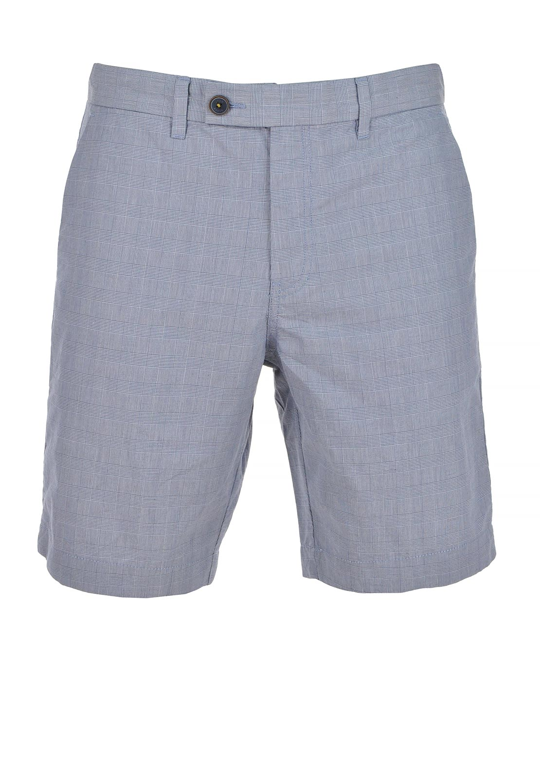 Ted Baker Mens Ronica Checked Shorts, Blue