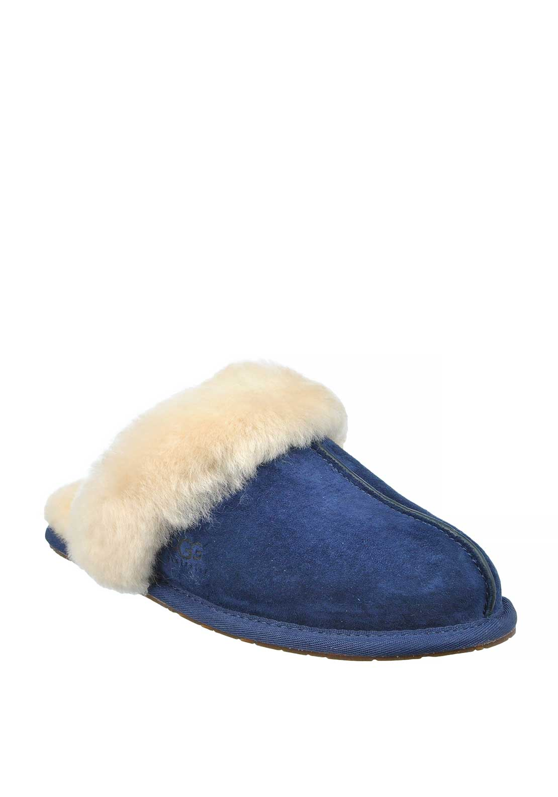 UGG Australia Womens Suede Scuffette II Slippers, Midnight