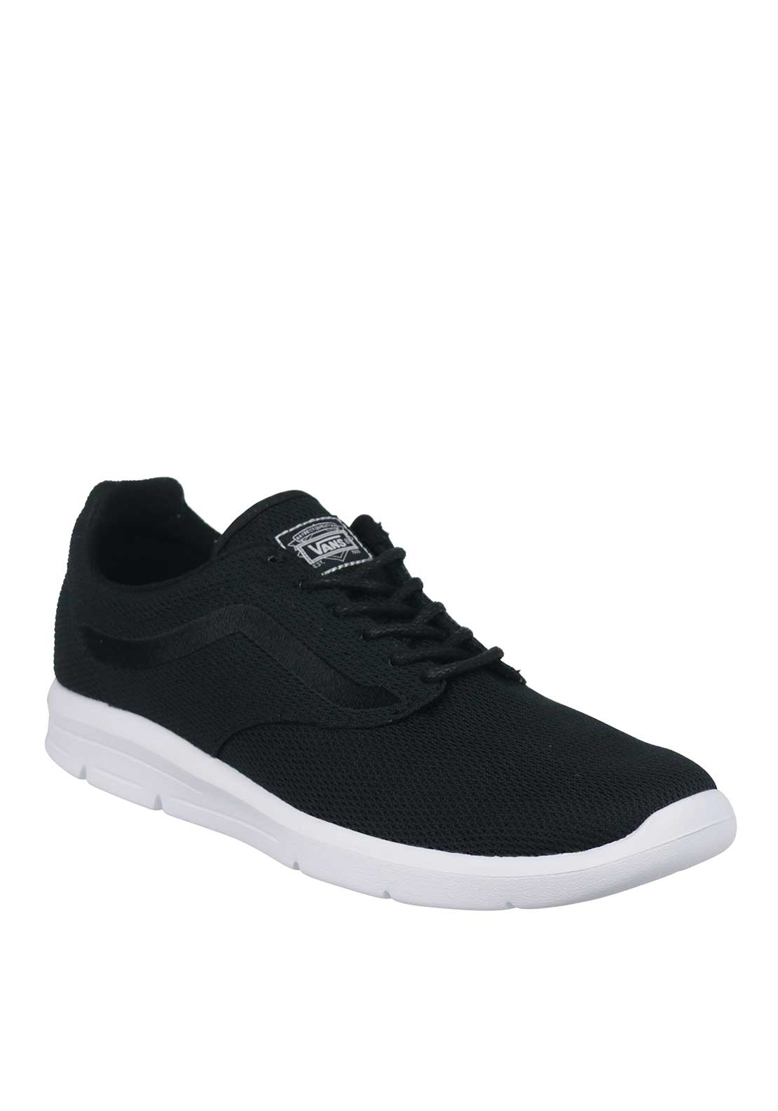 Vans Mens UltraCush Lite Mesh Trainer, Black