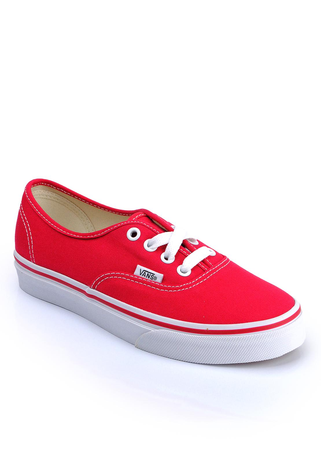 Vans Authentic Trainers, Red