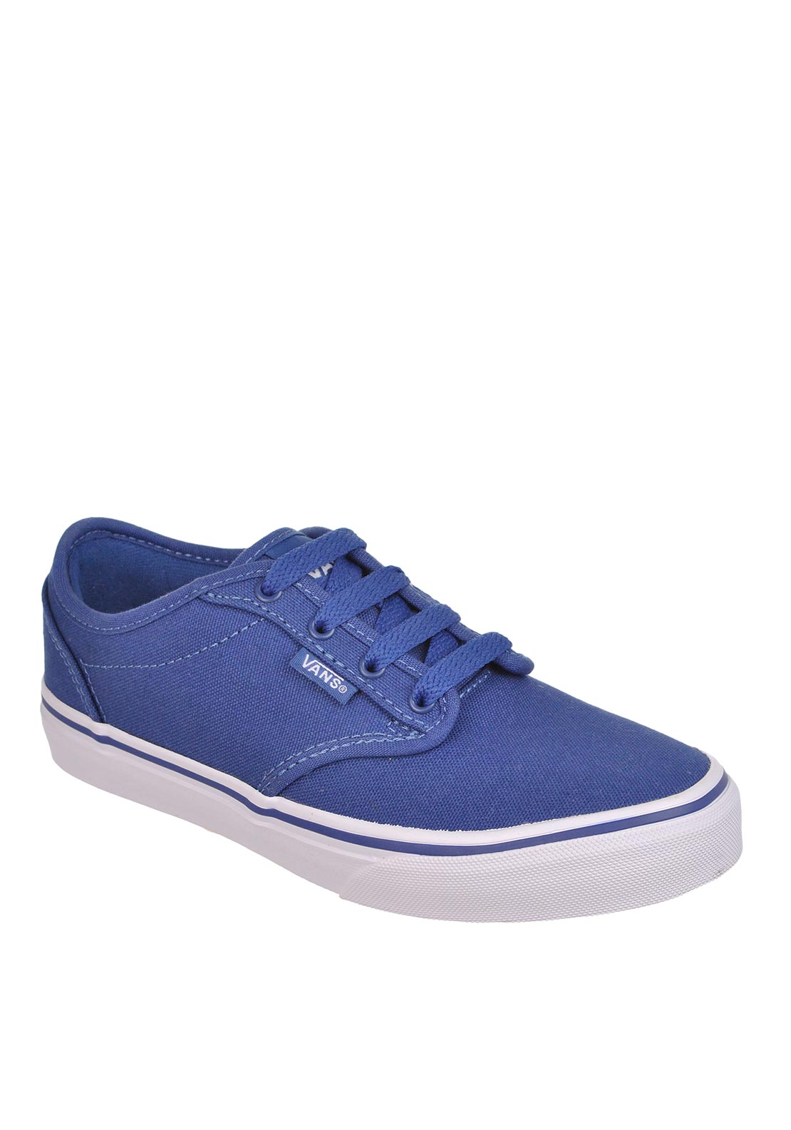 Vans Kids Classic Canvas Trainers, Navy Blue