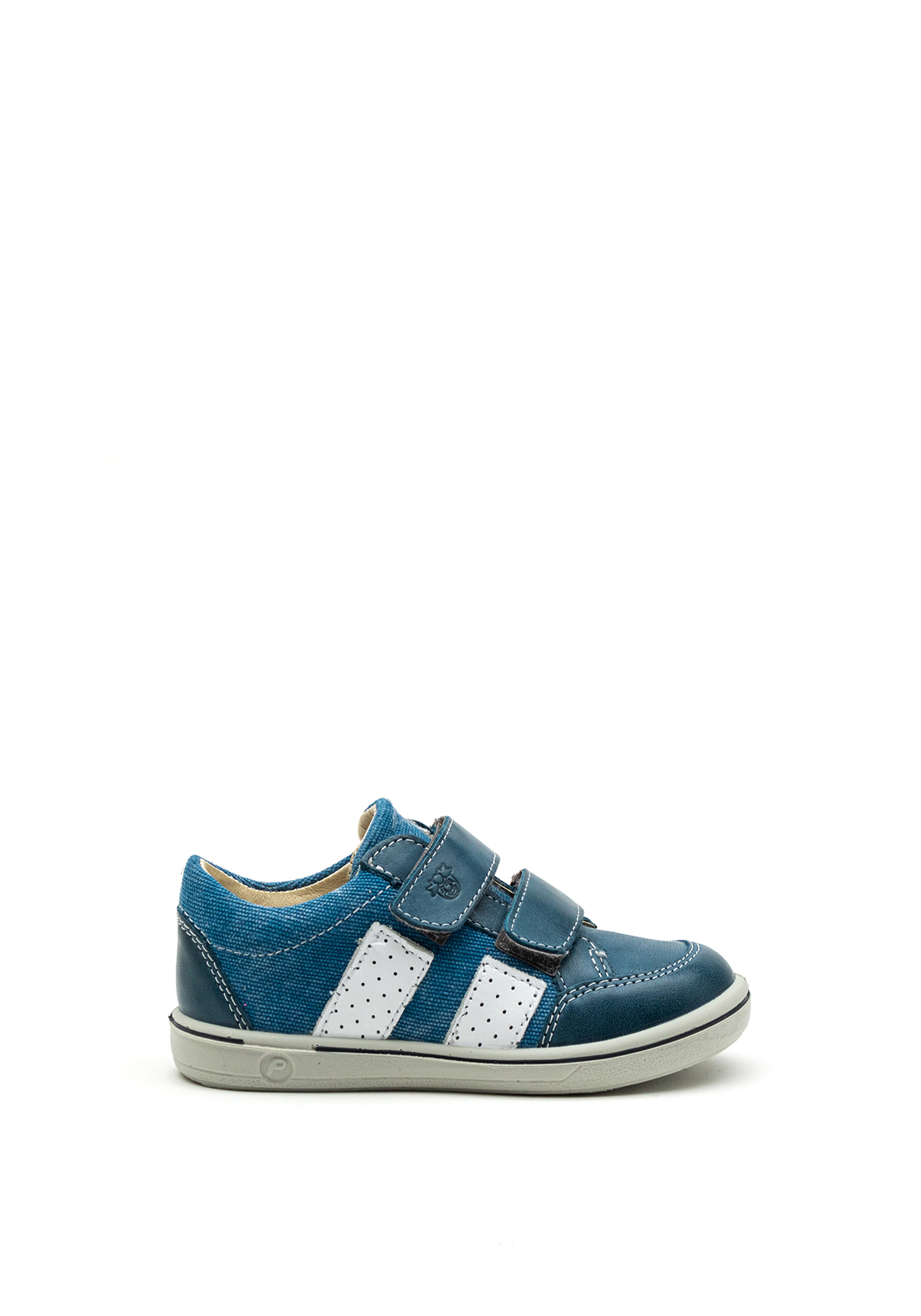 Pepino Baby Boys Leather Velcro Strap Shoes, Blue